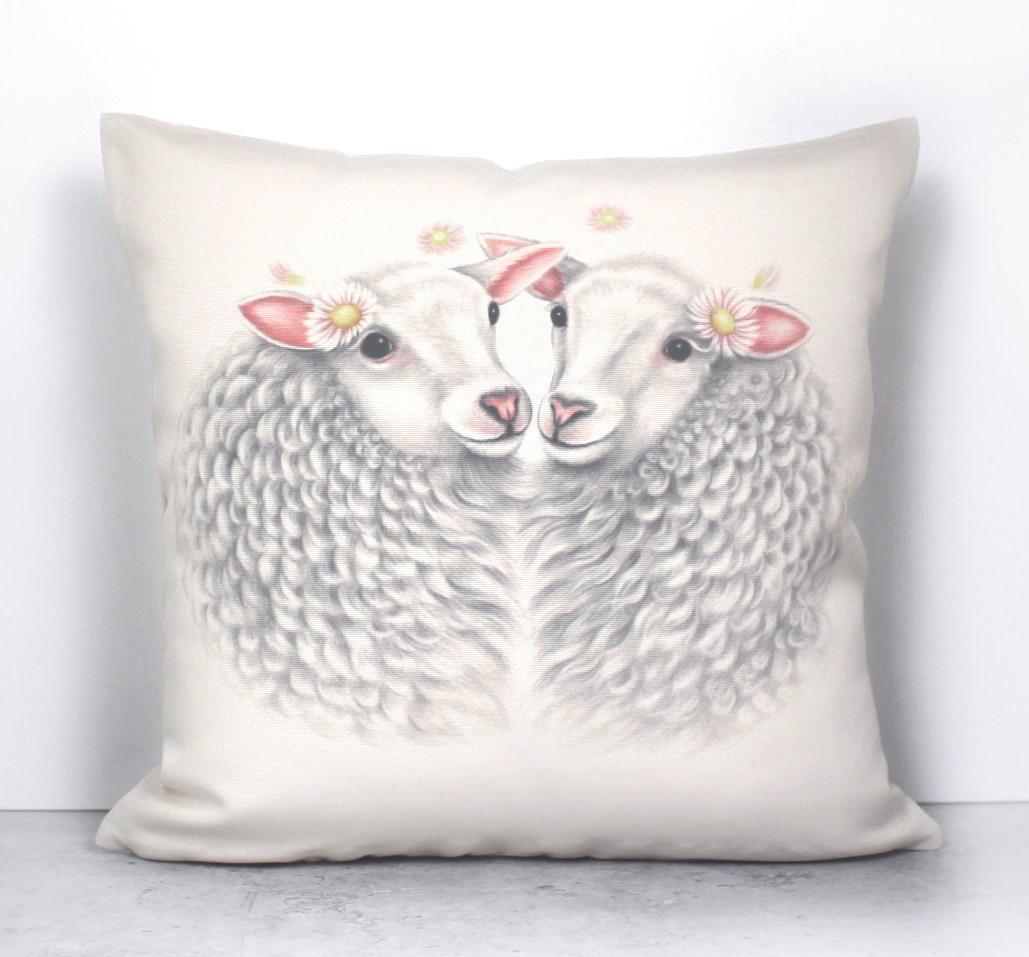 Lammaspari -Sisustustyyny