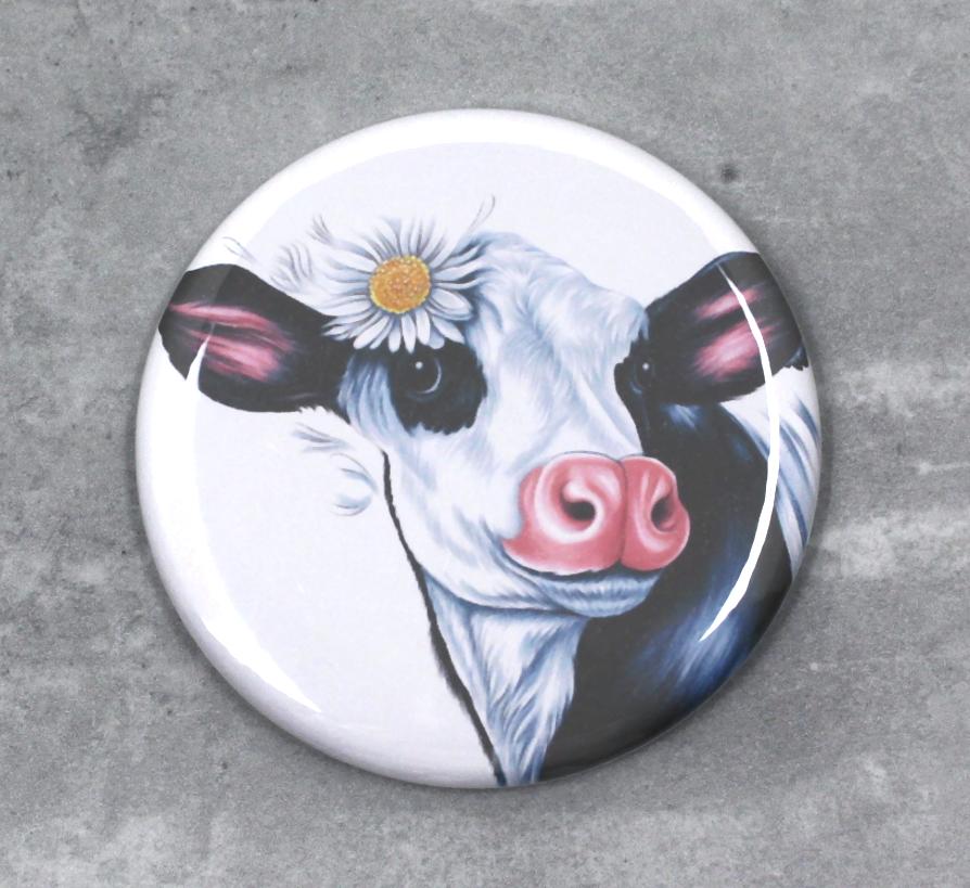 Lehmä Mustavalkoinen -Nappi