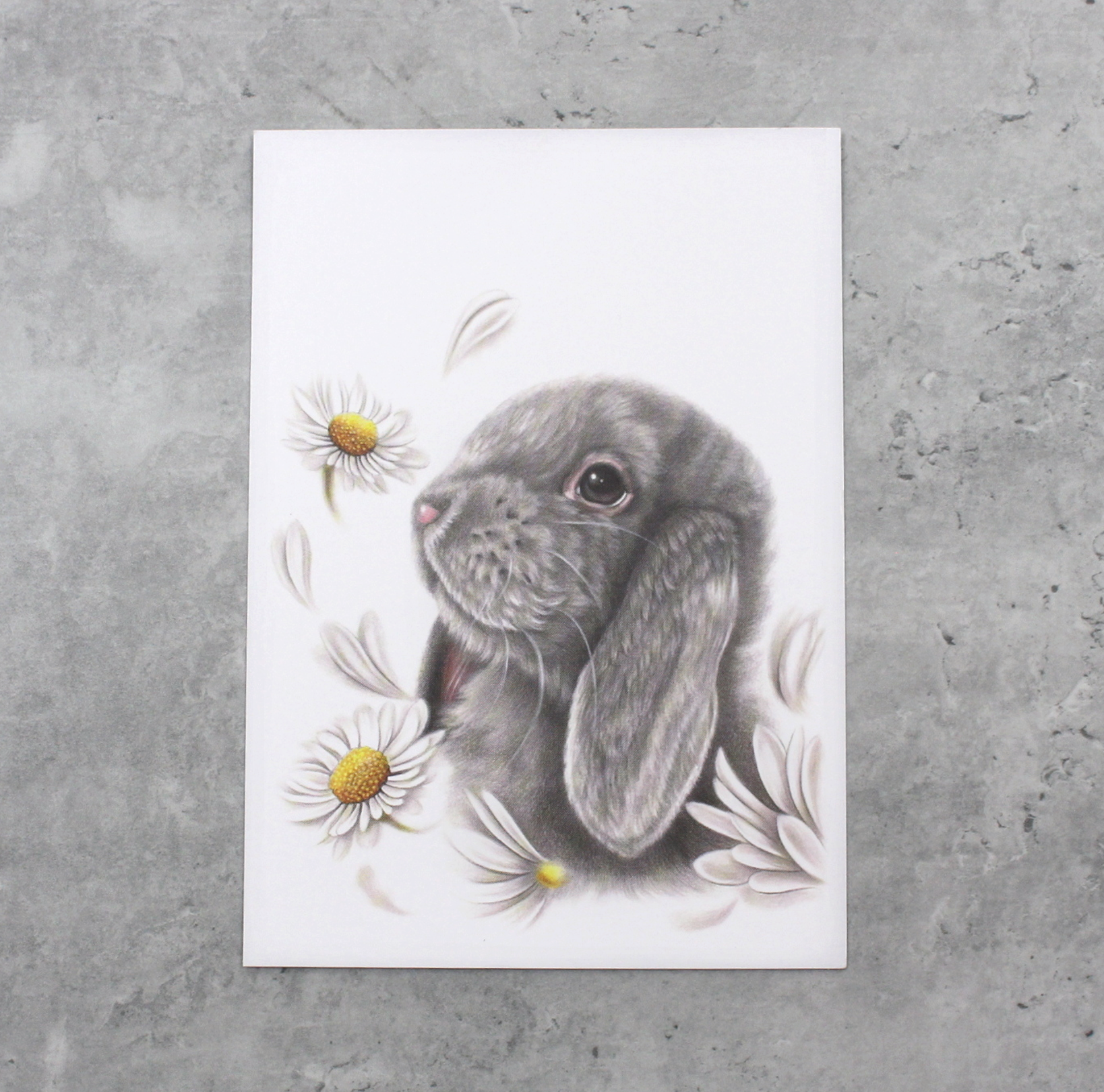 Pupu ja Kukat -Postikortti