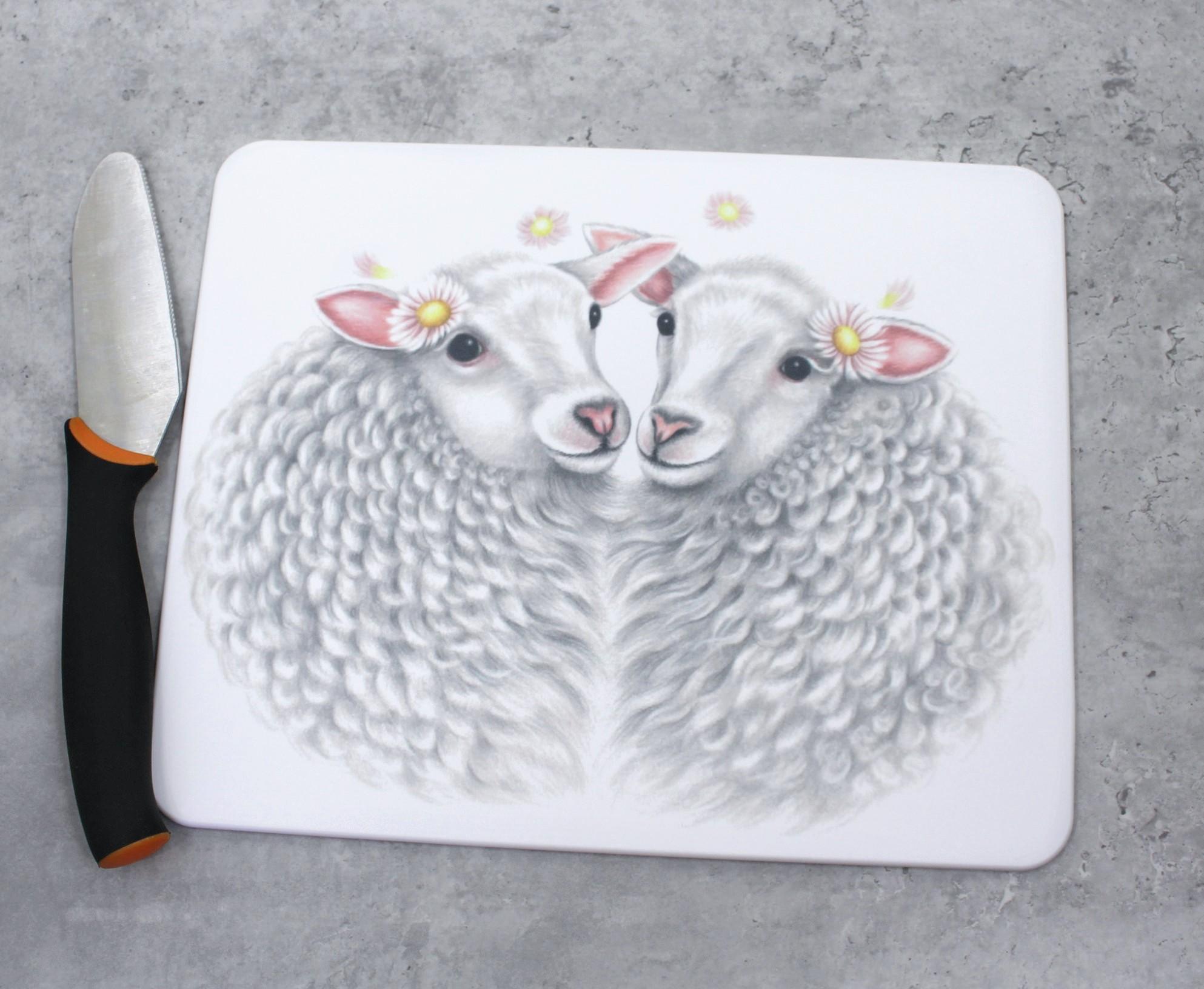 Lammaspari -Leikkuulauta