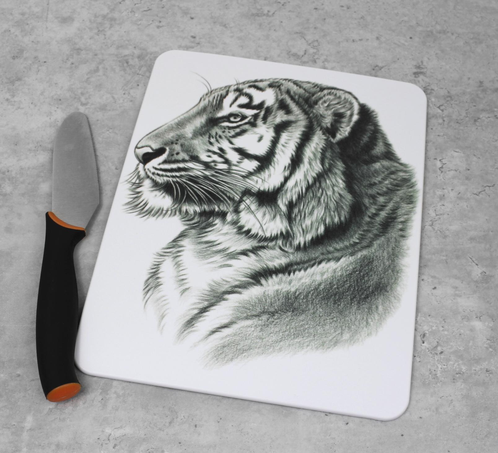 Tiikeri Mustavalkoinen -Leikkuulauta