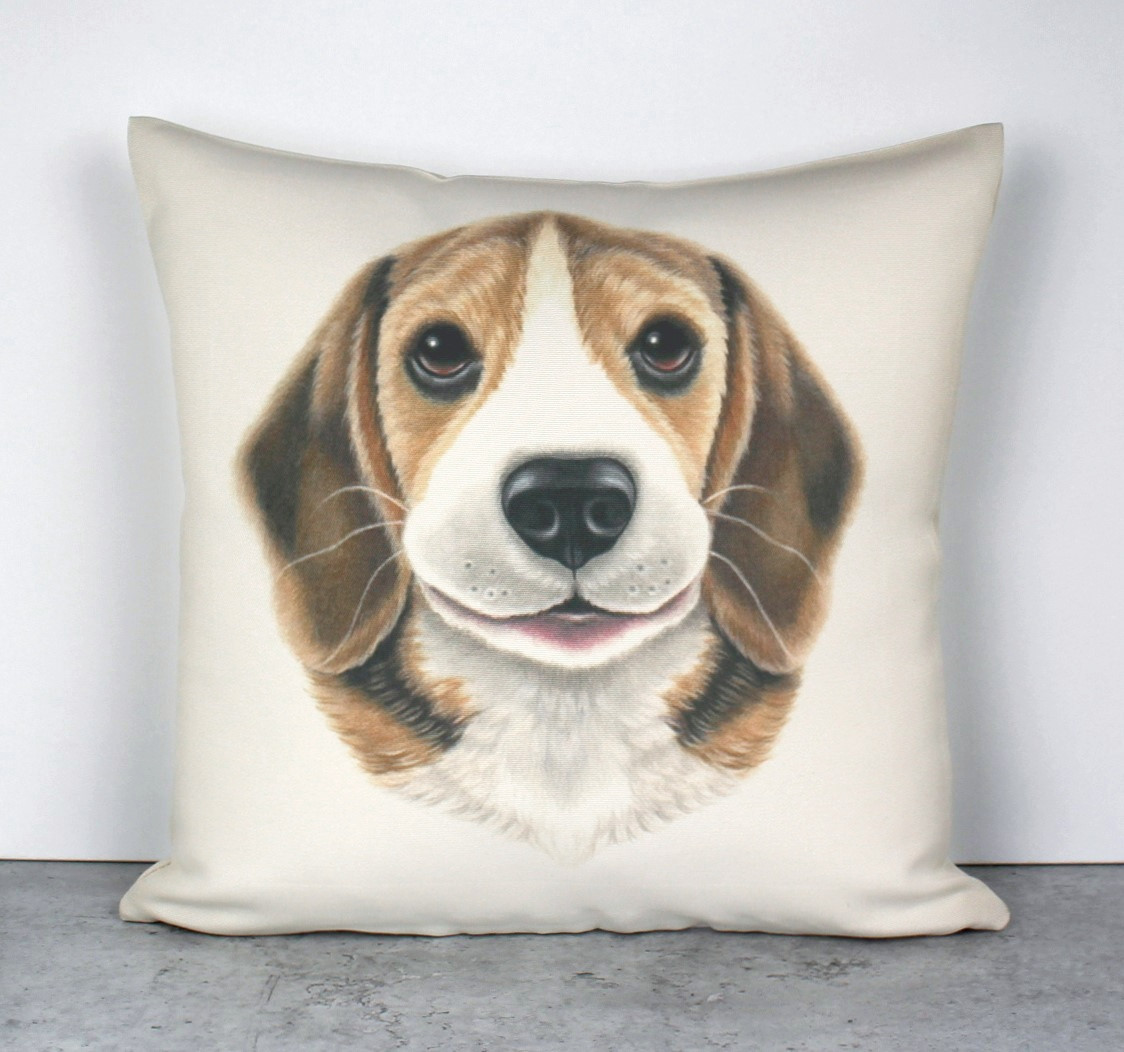 Beagle -Sisustustyyny (Koirarodut)