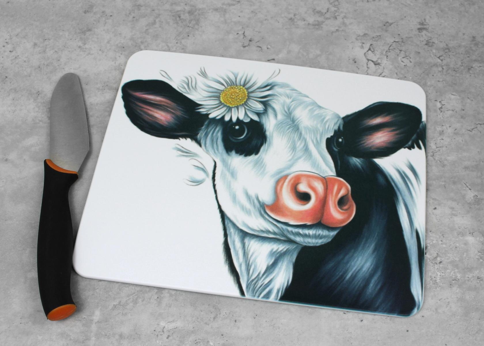Lehmä Mustavalkoinen -Leikkuulauta