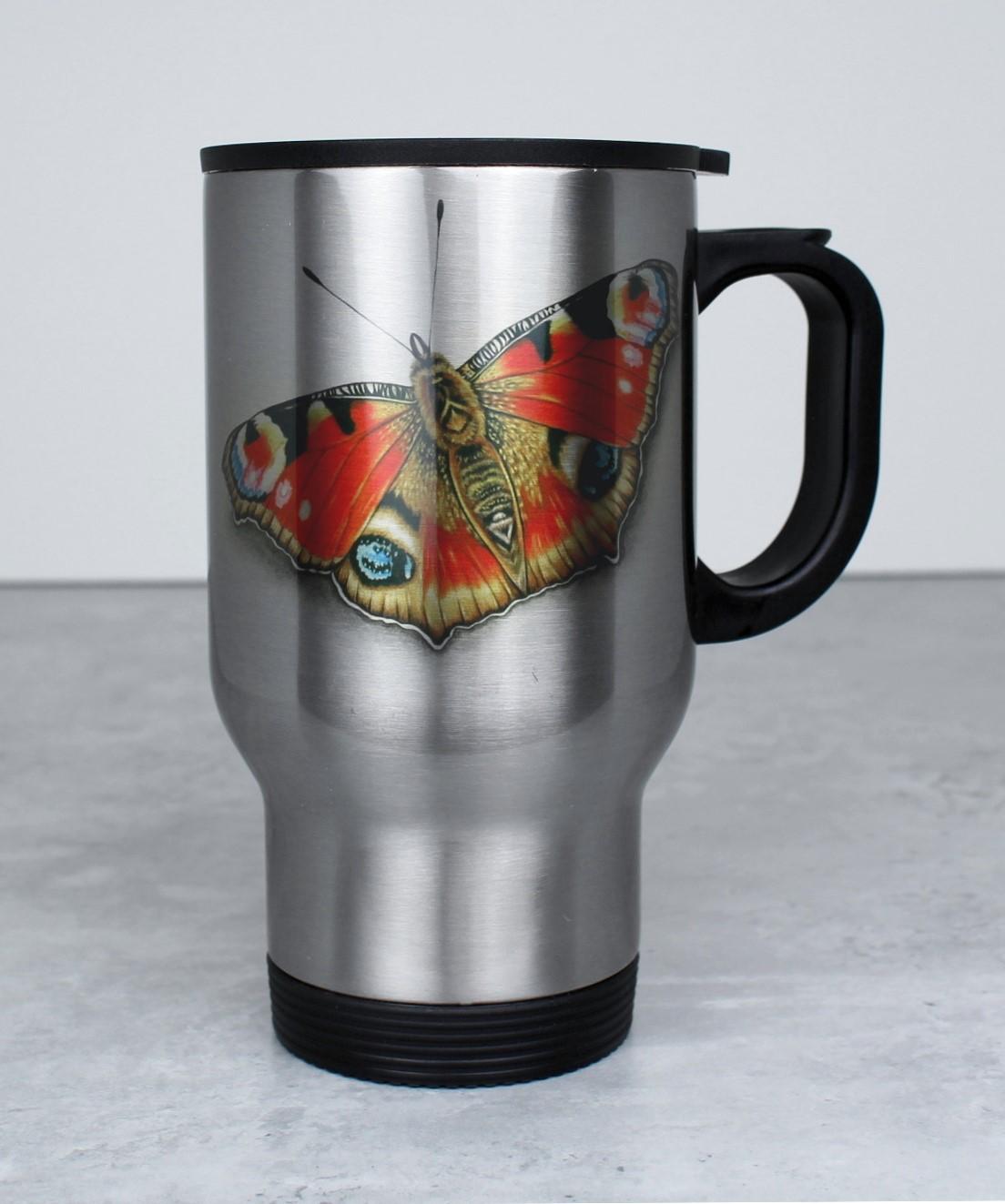 Perhonen Punainen -Termosmuki