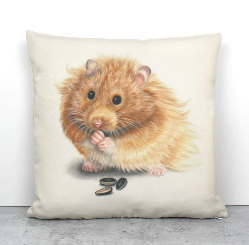 Hamsteri -Sisustustyyny