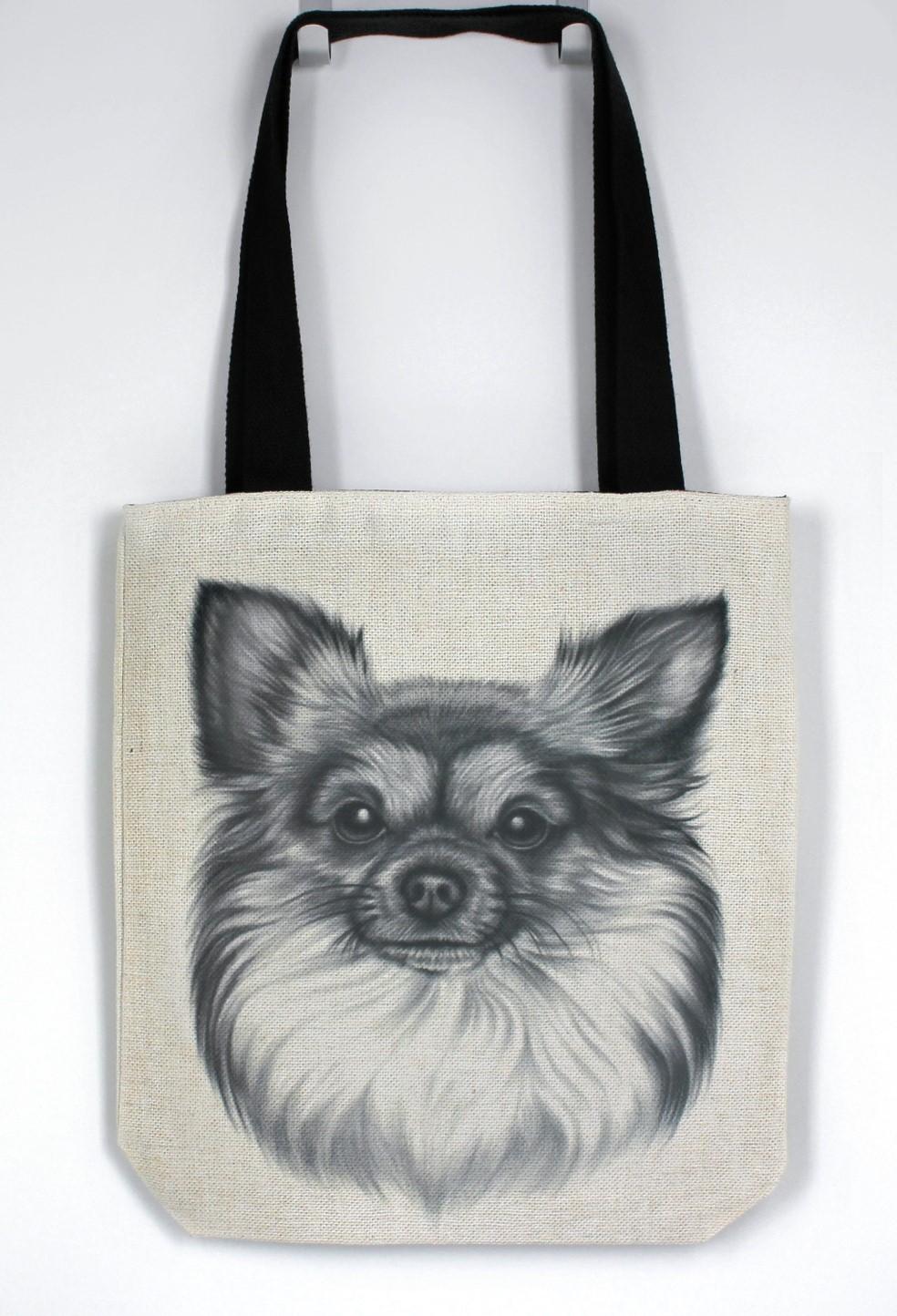 Chihuahua Pitkäkarvainen -Kassi (Koirarodut)