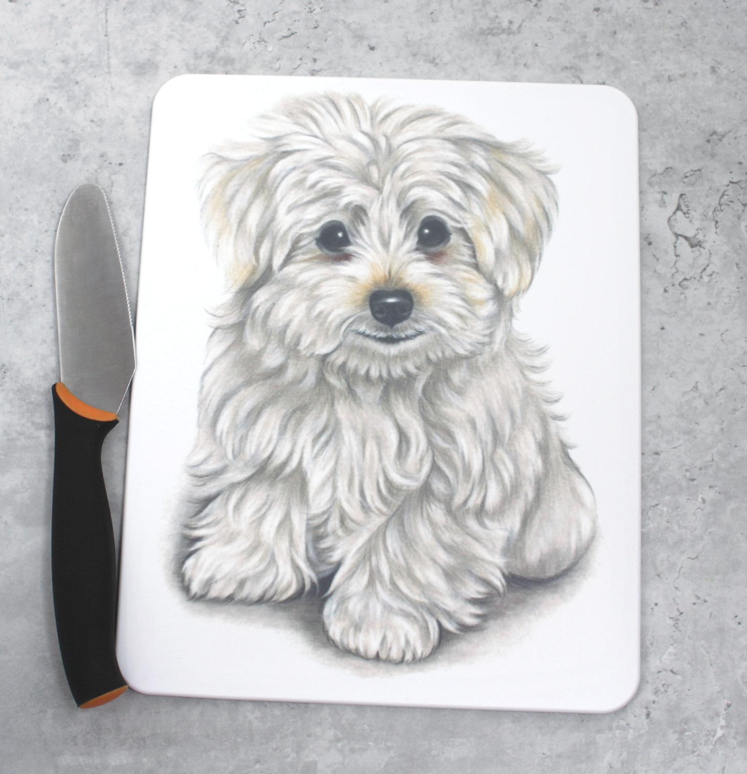 Koiranpentu -Leikkuulauta
