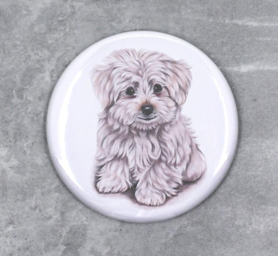 Koiranpentu -Nappi