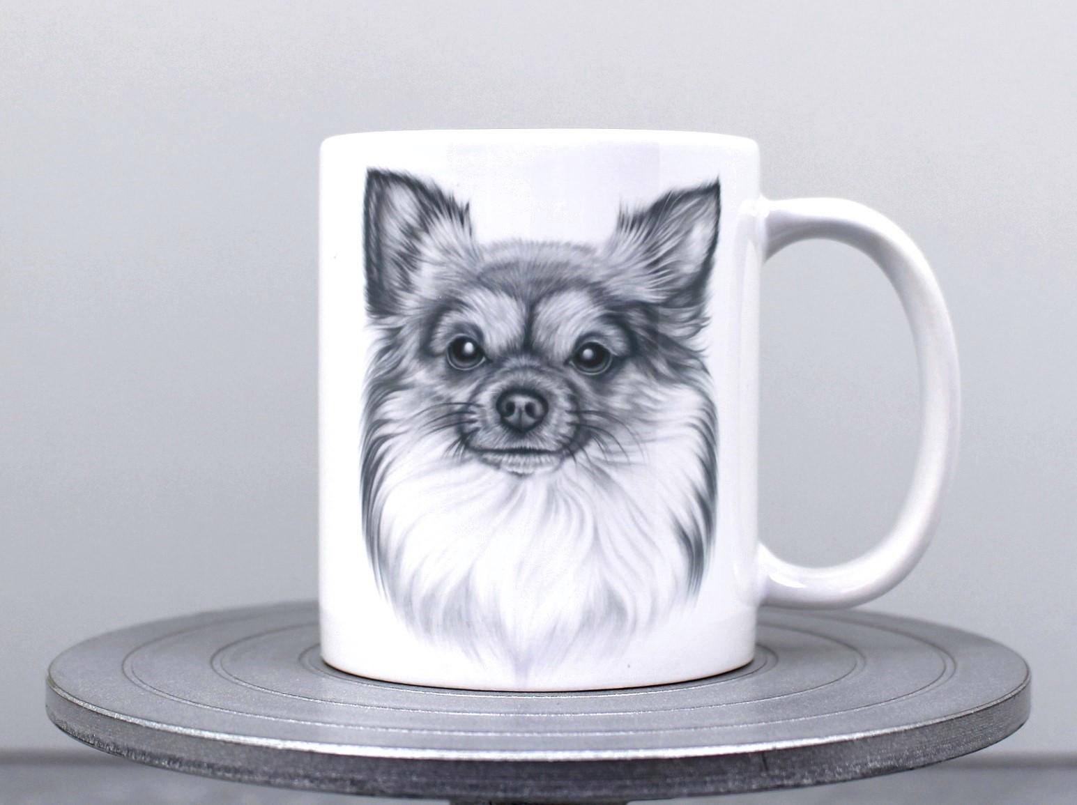 Chihuahua Pitkäkarvainen -Muki (Koirarodut)