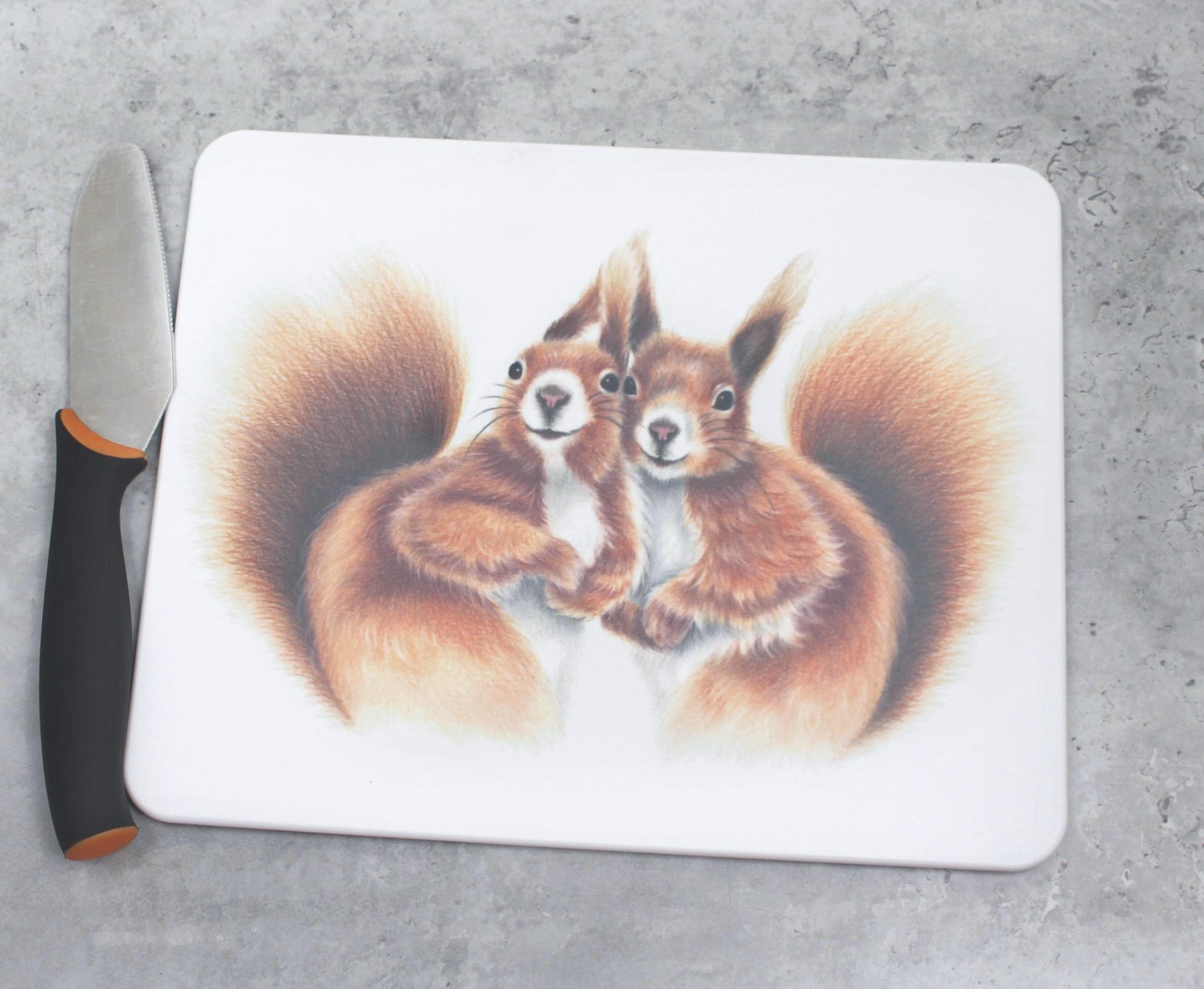 Oravapari -Leikkuulauta