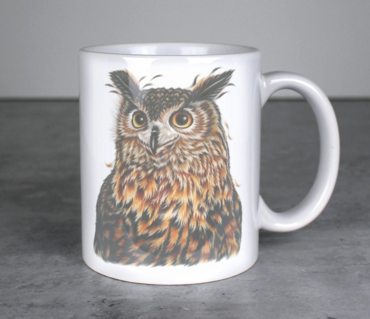 Huuhkaja Ruskea -Muki (Pöllö)