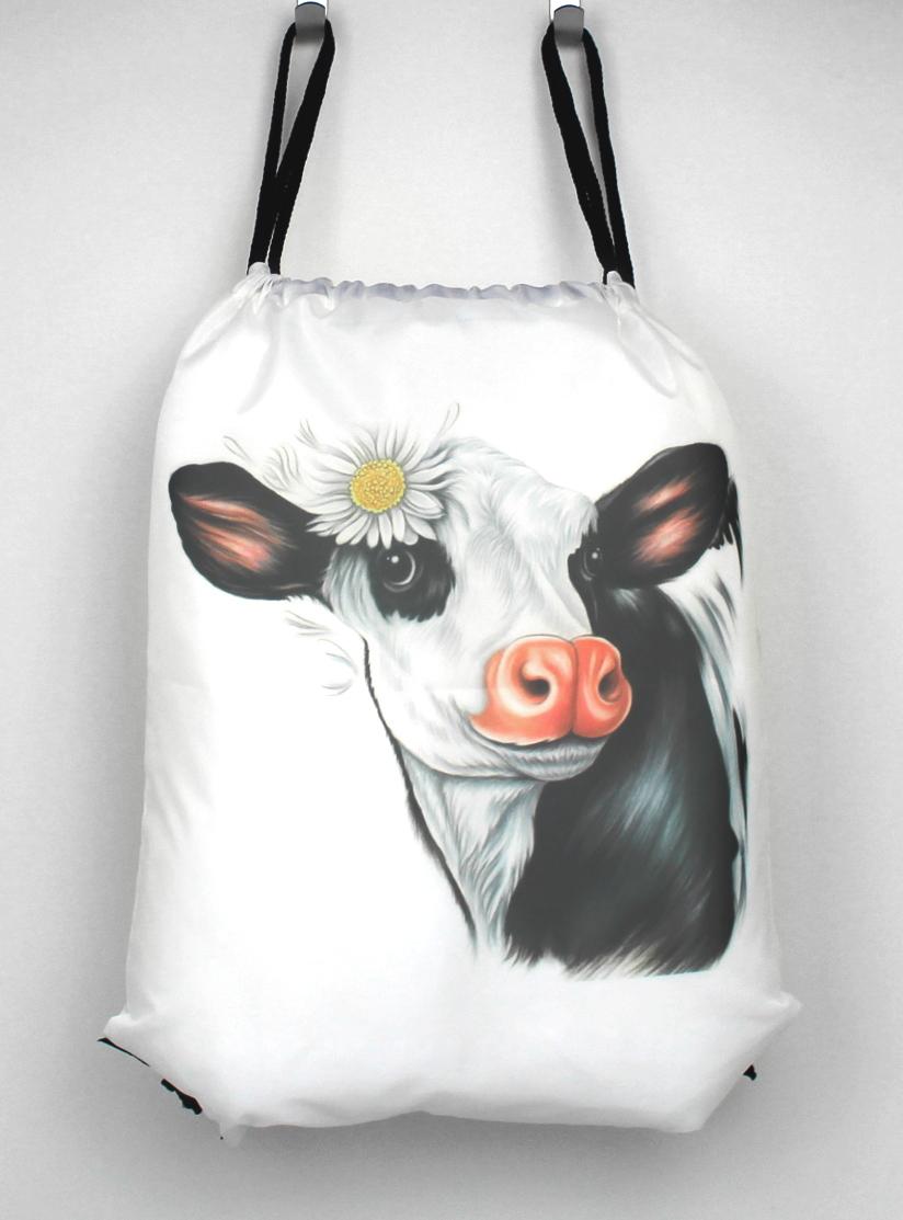 Lehmä Mustavalkoinen -Narureppu