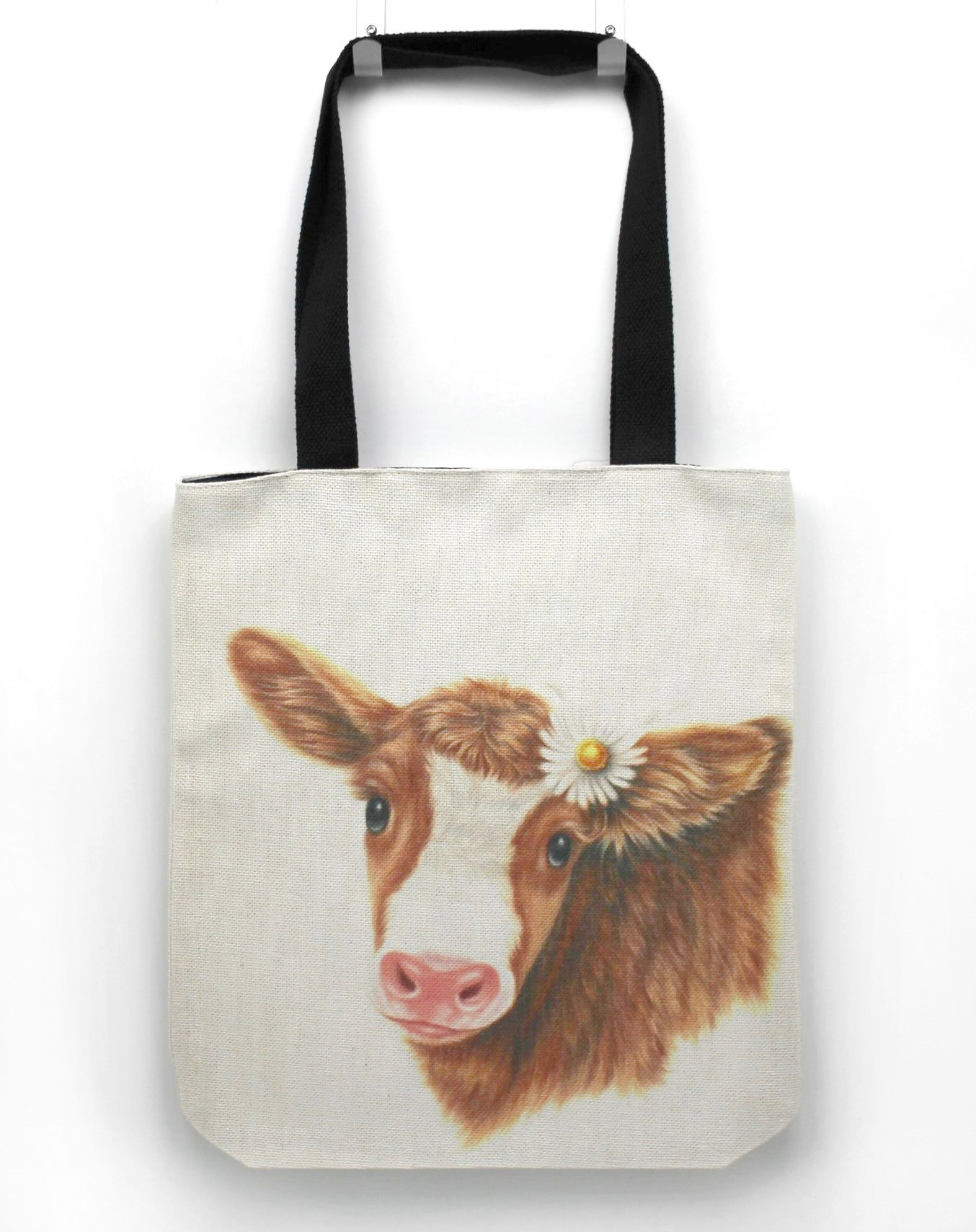 Lehmä Ruskea -Kassi