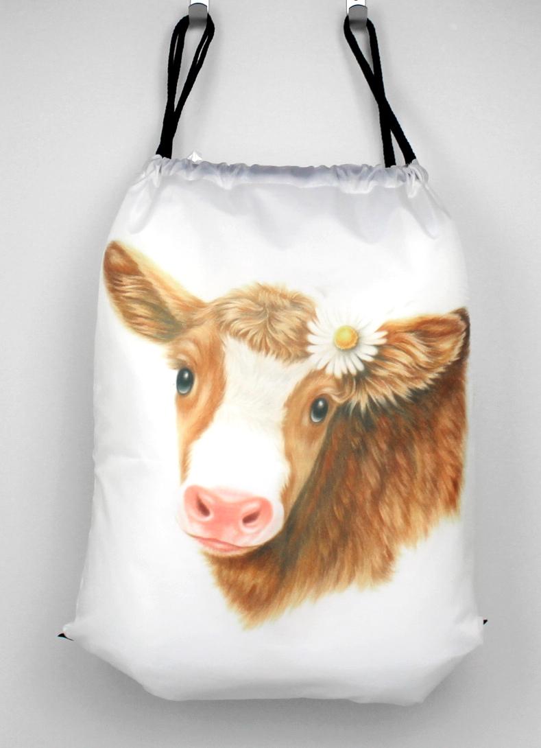 Lehmä Ruskea -Narureppu