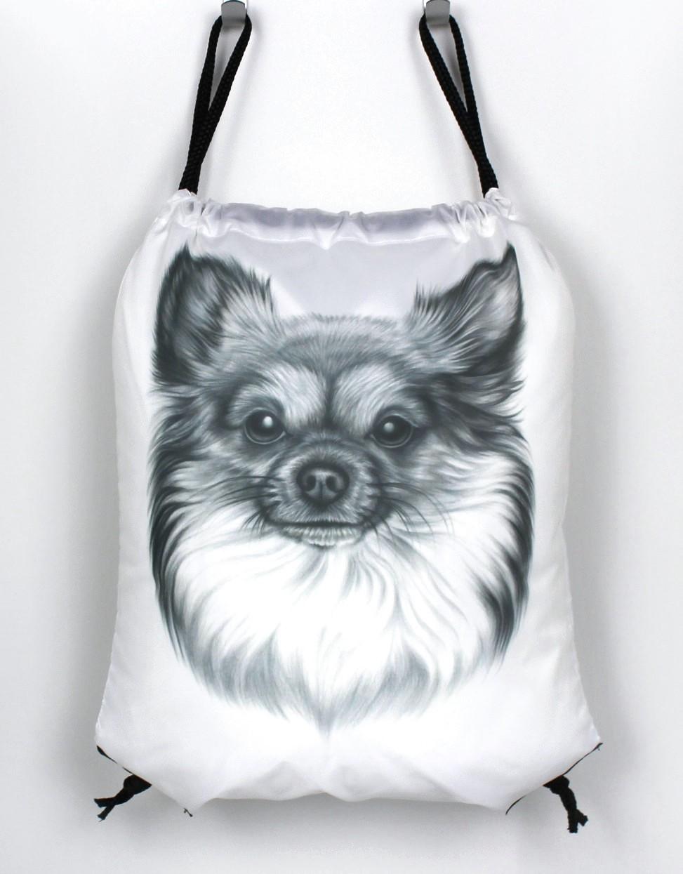 Chihuahua Pitkäkarvainen -Narureppu (Koirarodut)