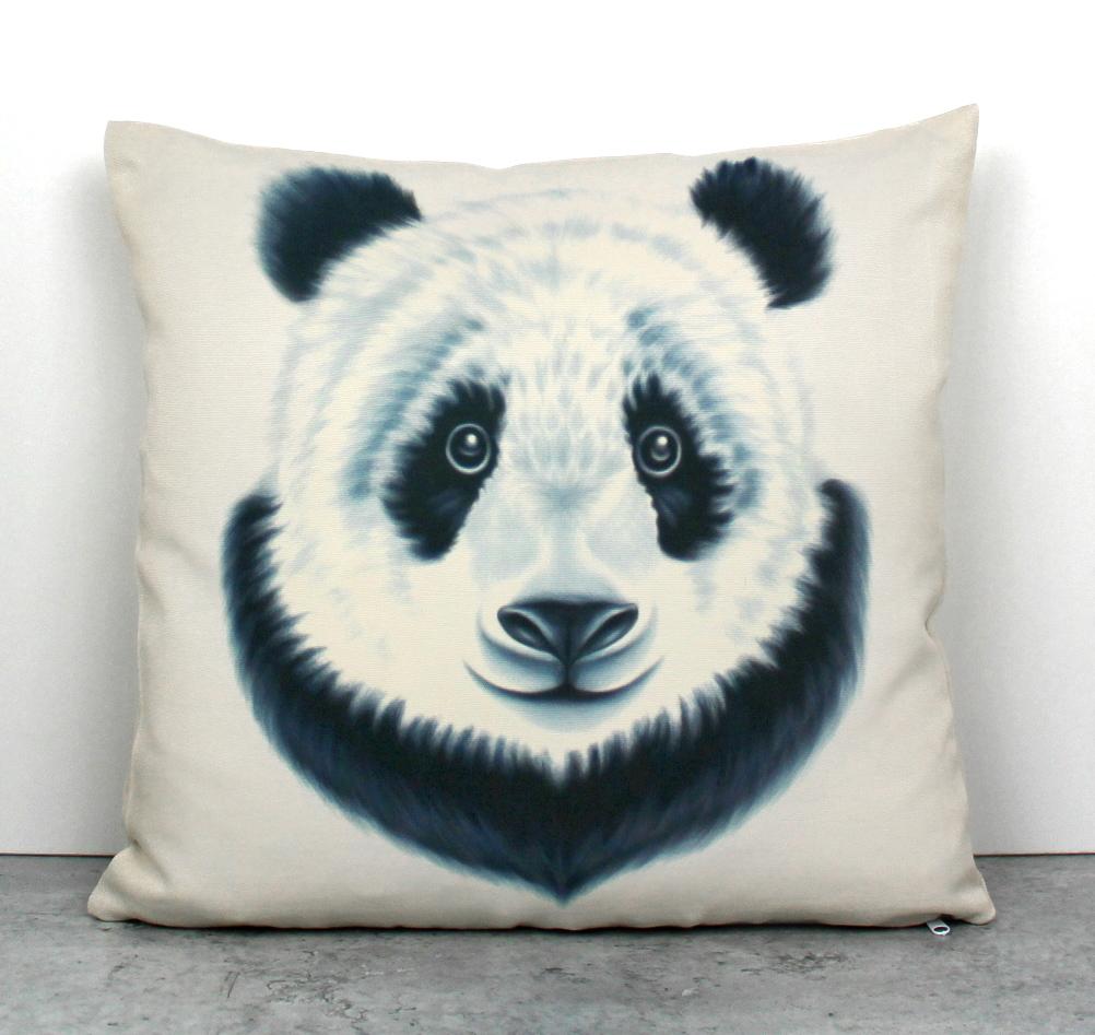 Panda -Sisustustyyny