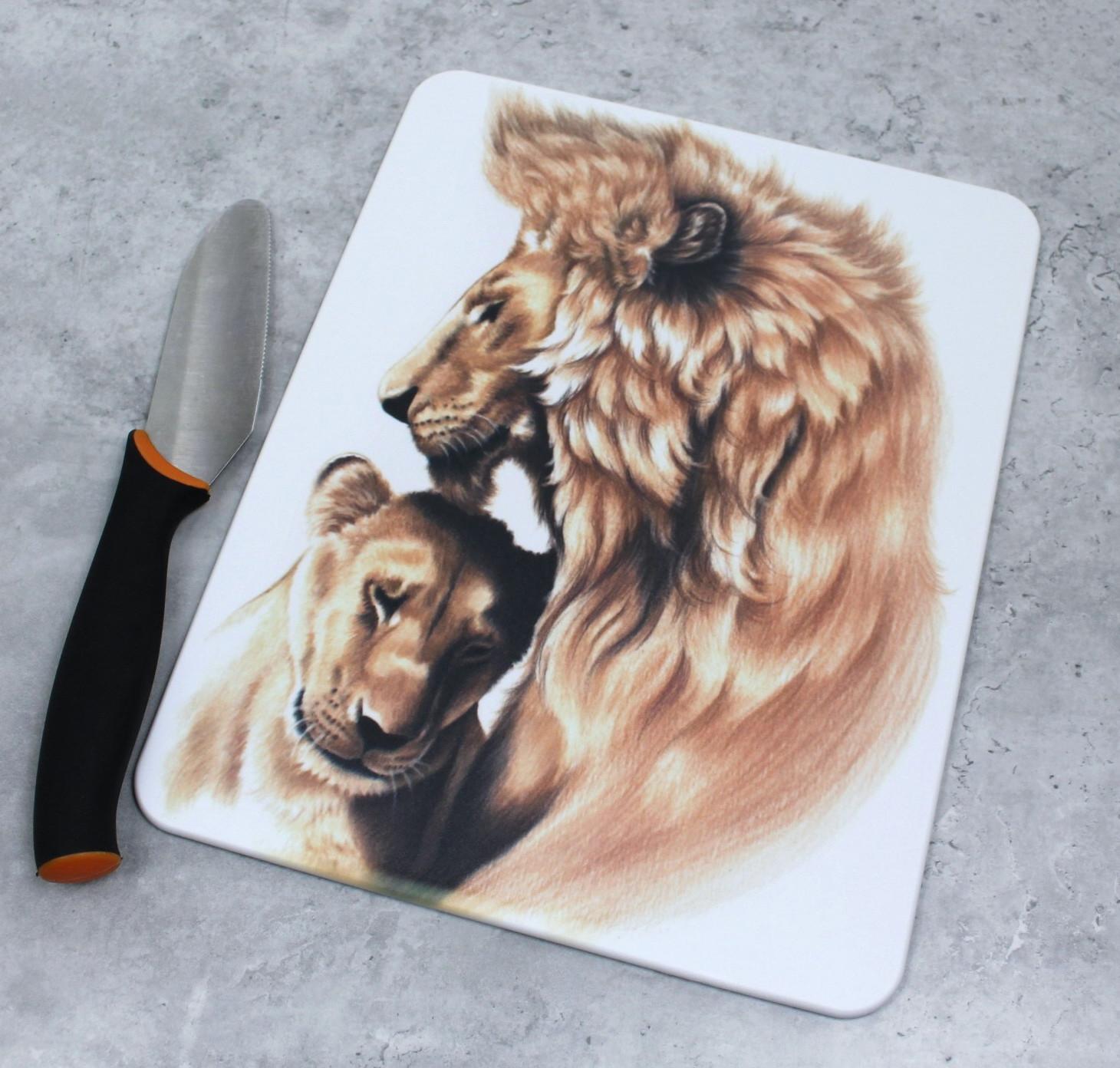 Leijonapari -Leikkuulauta