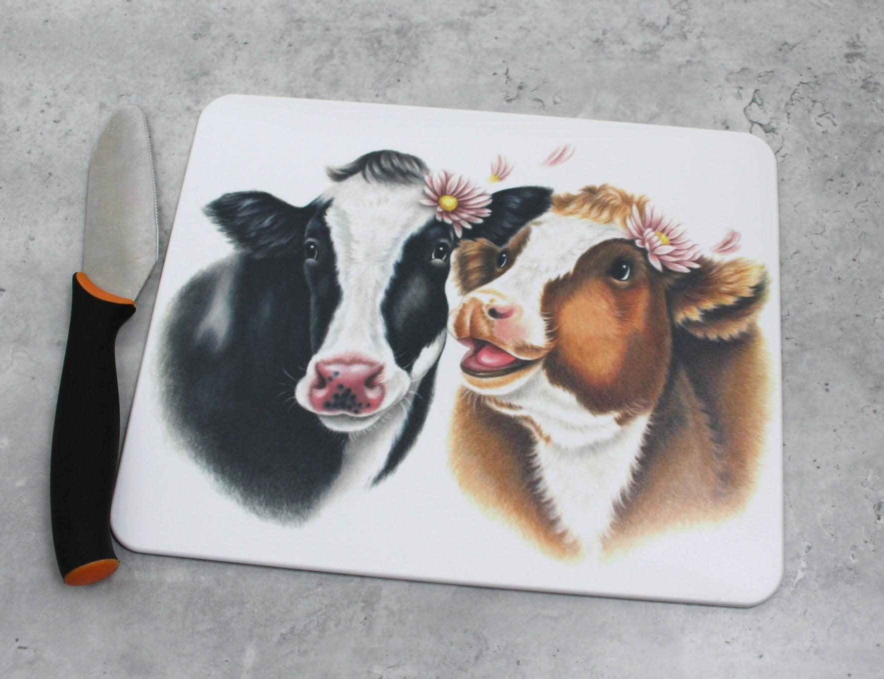 Lehmäpari -Leikkuulauta