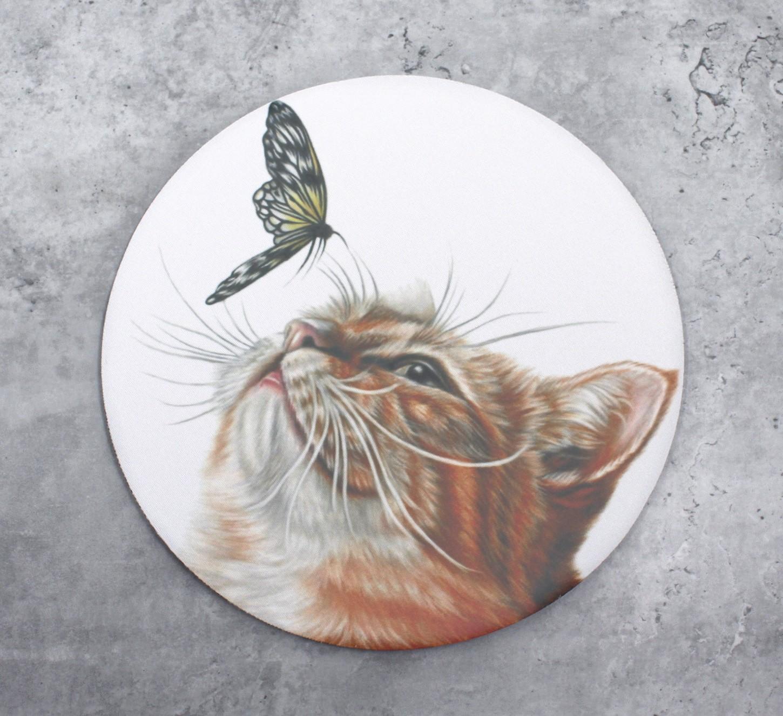 Kissa ja perhonen -Hiirimatto