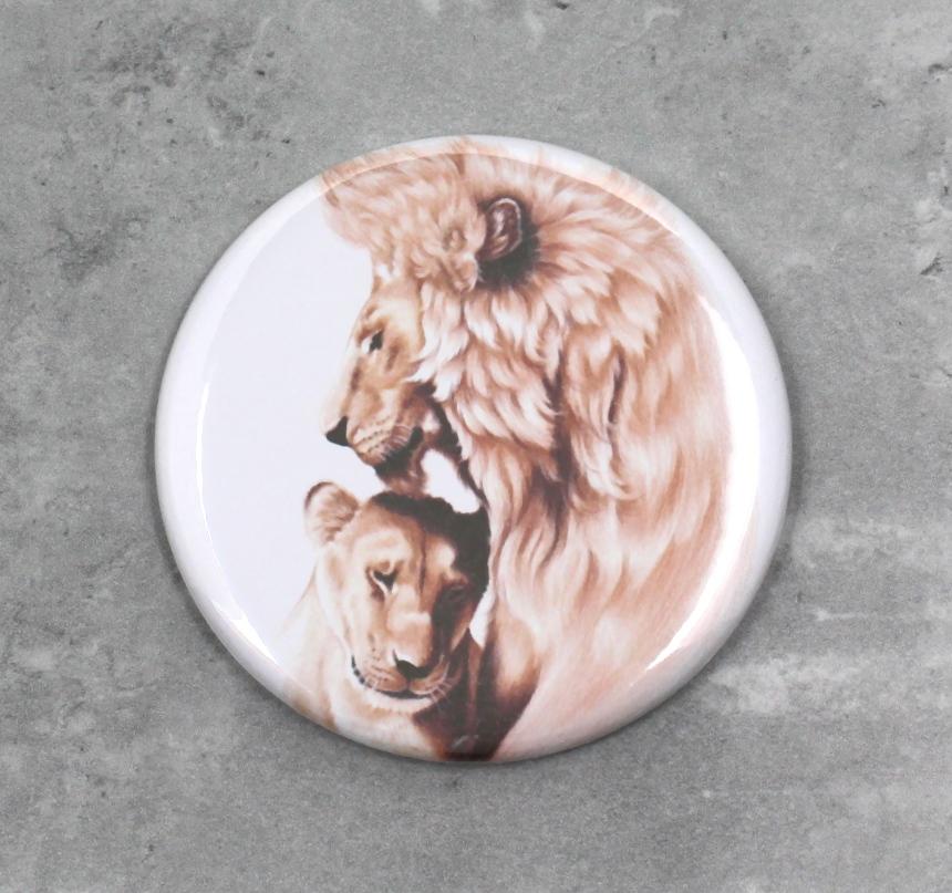 Leijonapari -Nappi