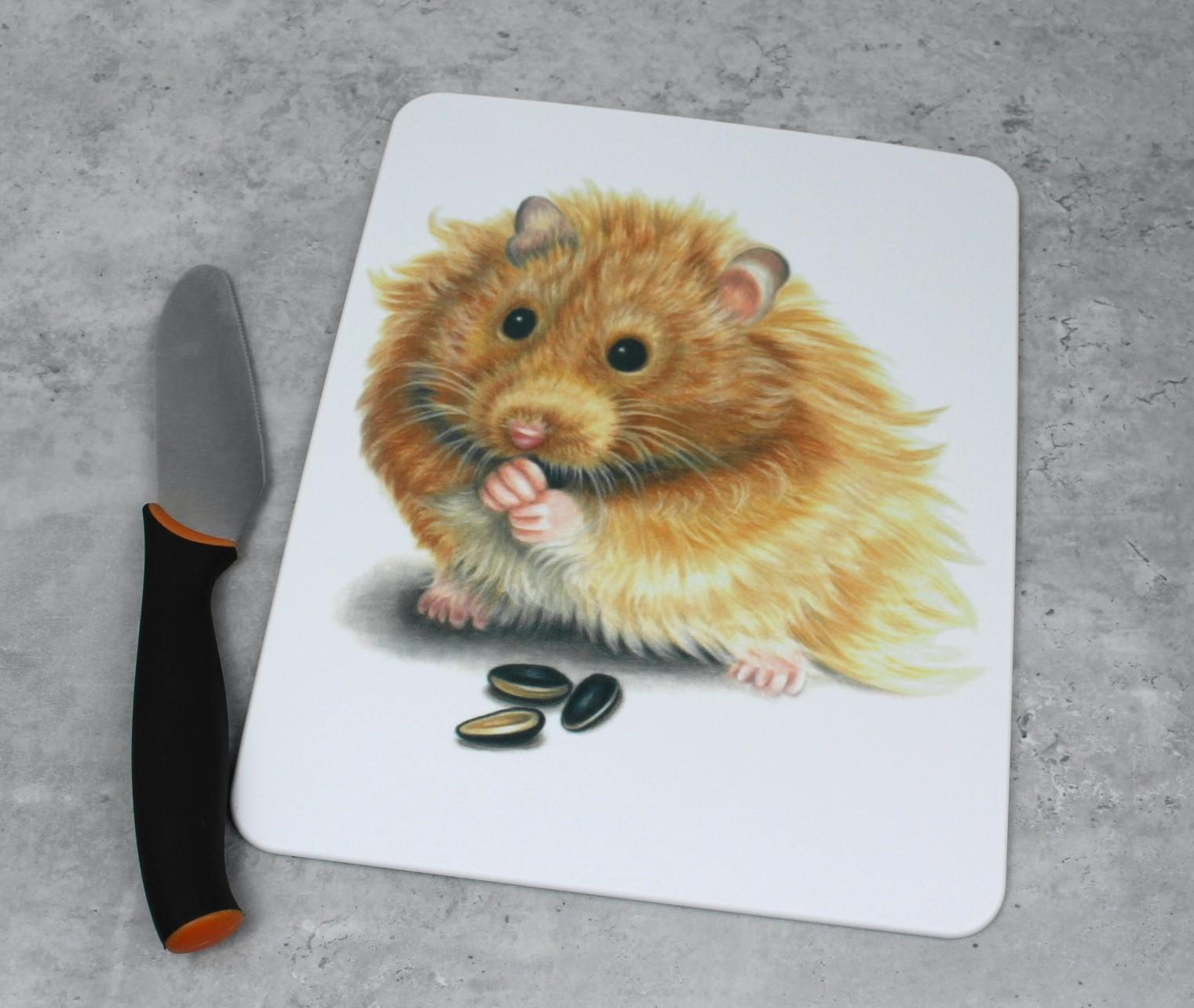 Hamsteri -Leikkuulauta