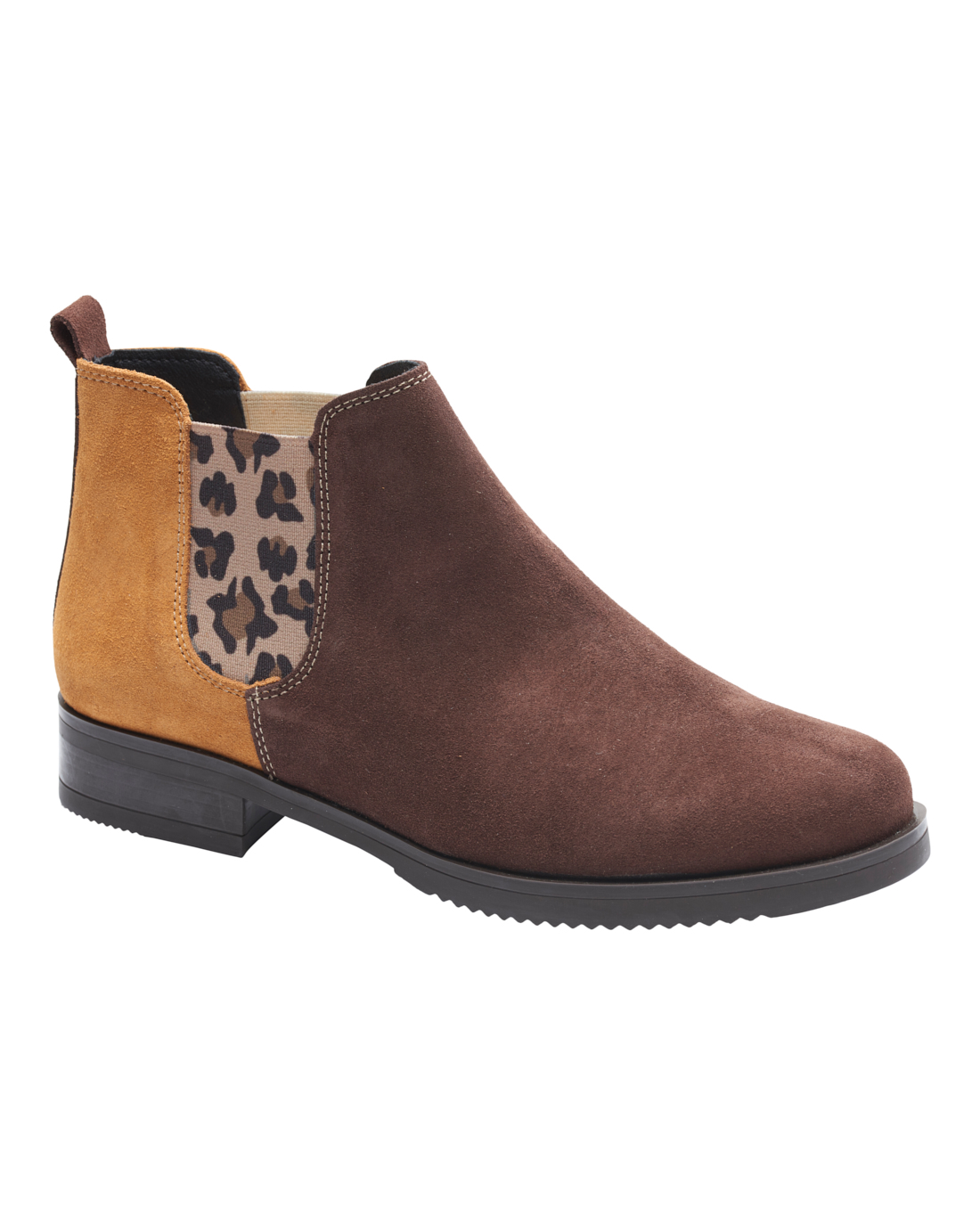 Halle Brown Boot