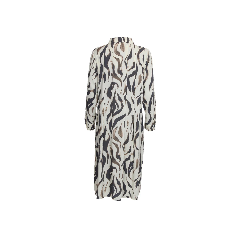 Annica Button Dress Wavy