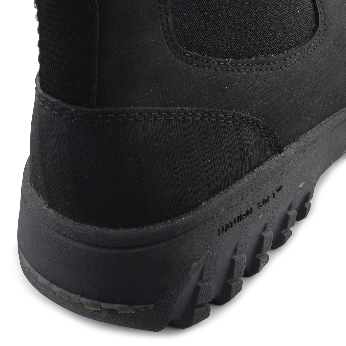 Magda Rubber Track Boot Black