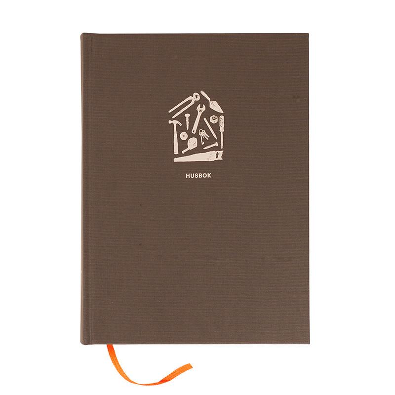 Bok Husboken - Husets egen dagbok