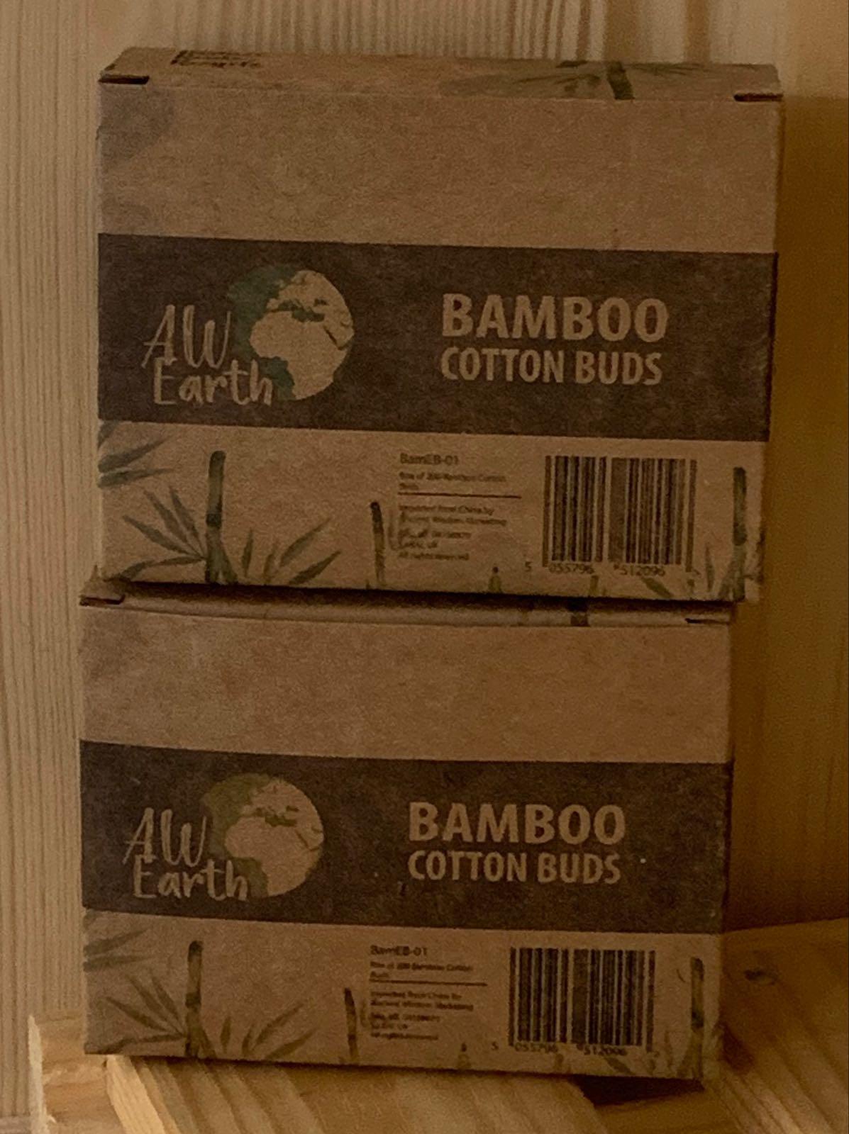 Bambus Wattestäbchen, 200 Stück