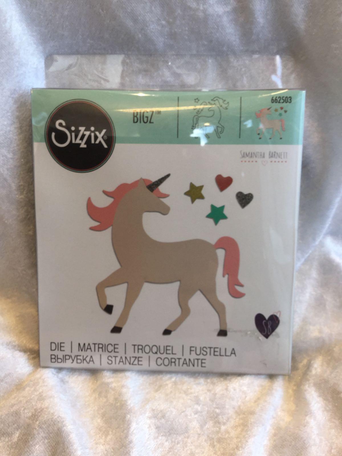 Sizzix Bigz 662503 Unicorn die