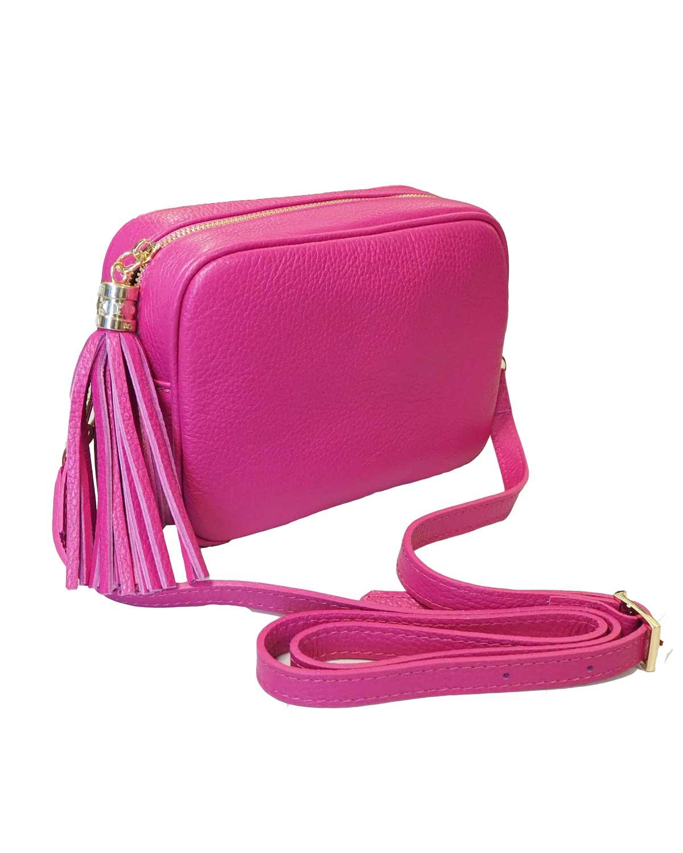 Kameralaukku, pinkki