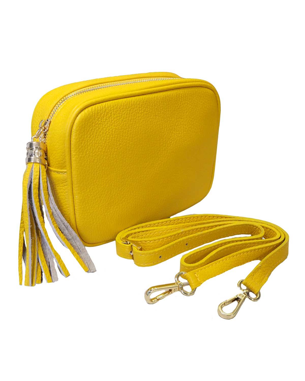 Kameralaukku, keltainen