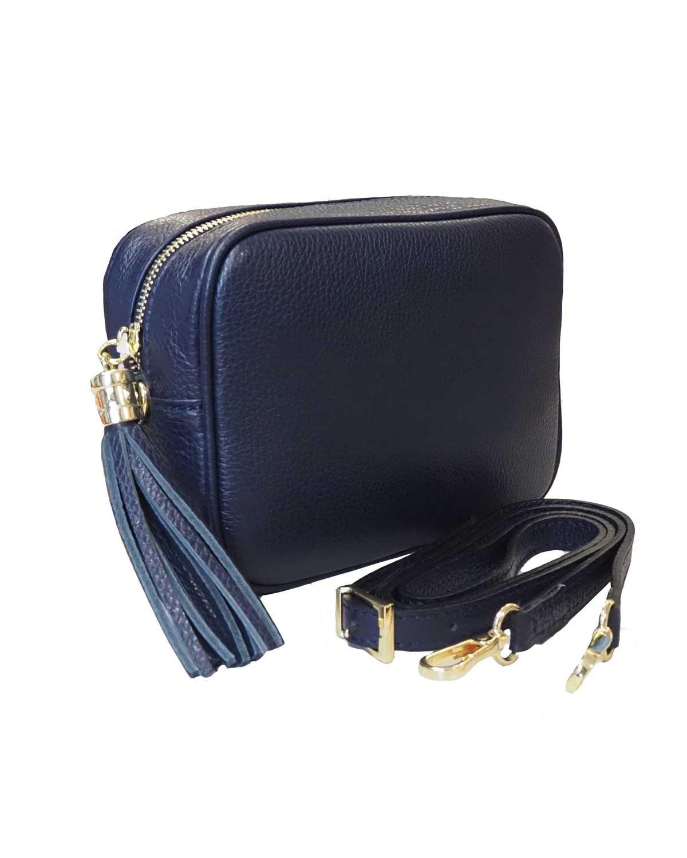 Kameralaukku, tummansininen