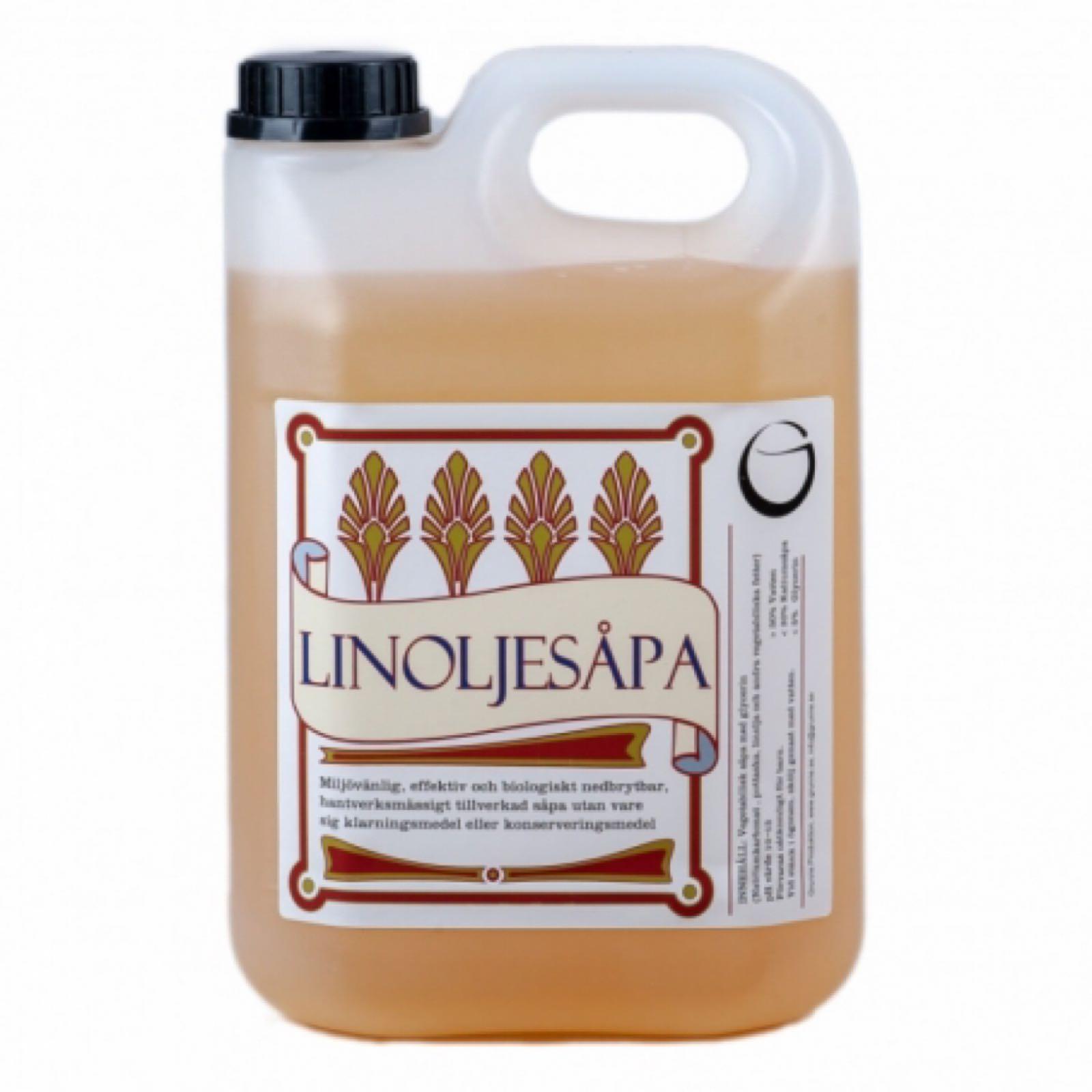 Linoljesåpa, 2,5 liter