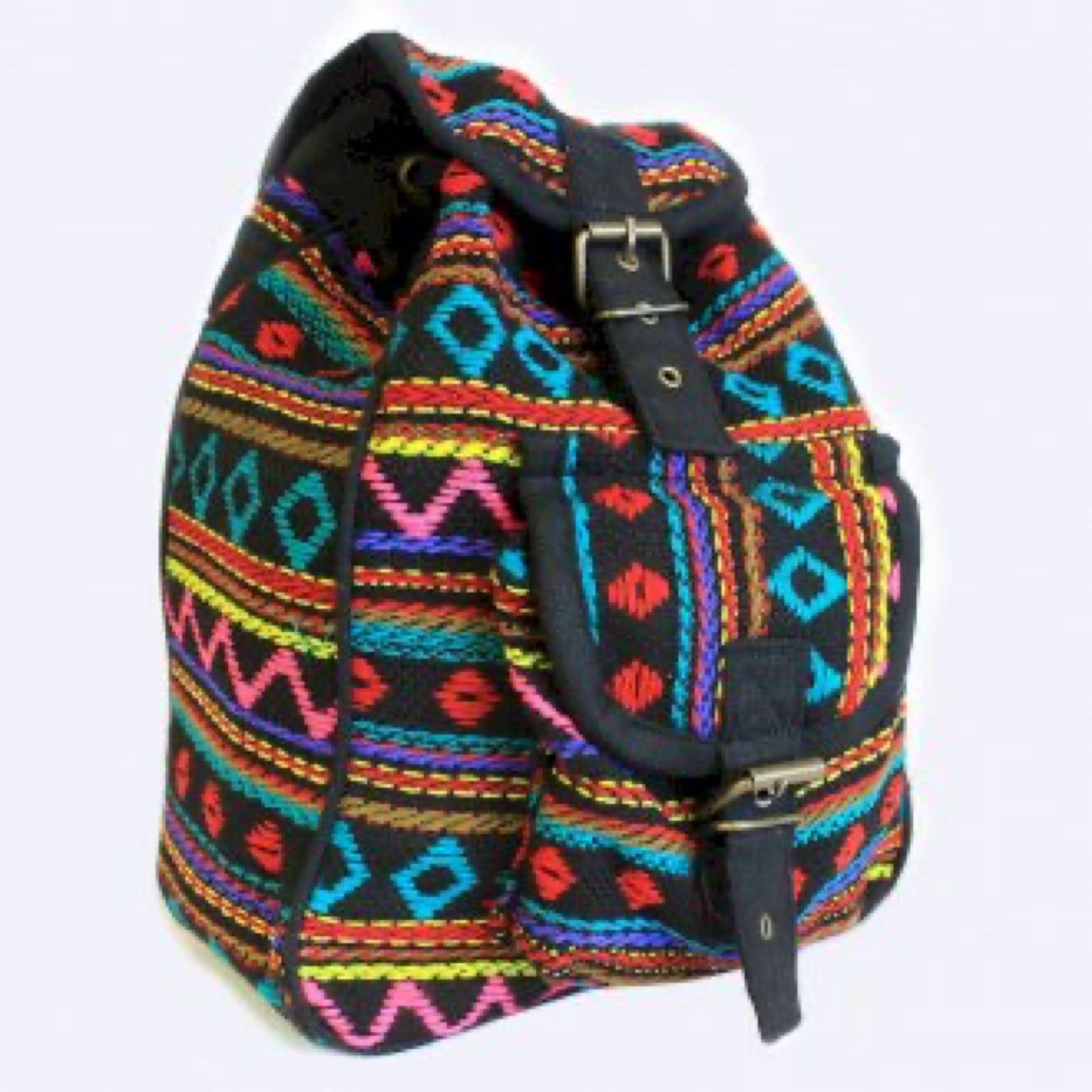Turquoise Nepali Backpack