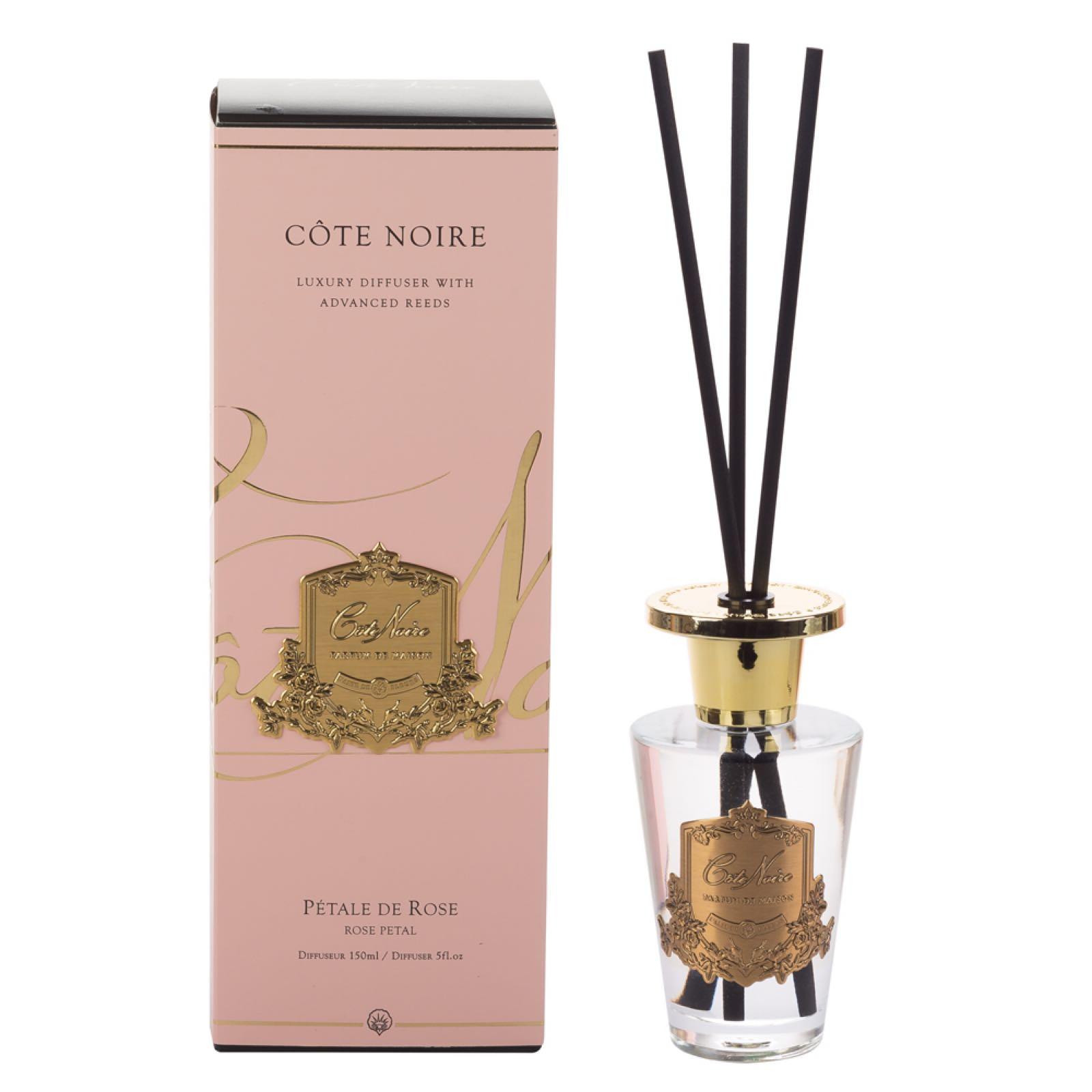 Cote noire rose petal luxury reed diffuser