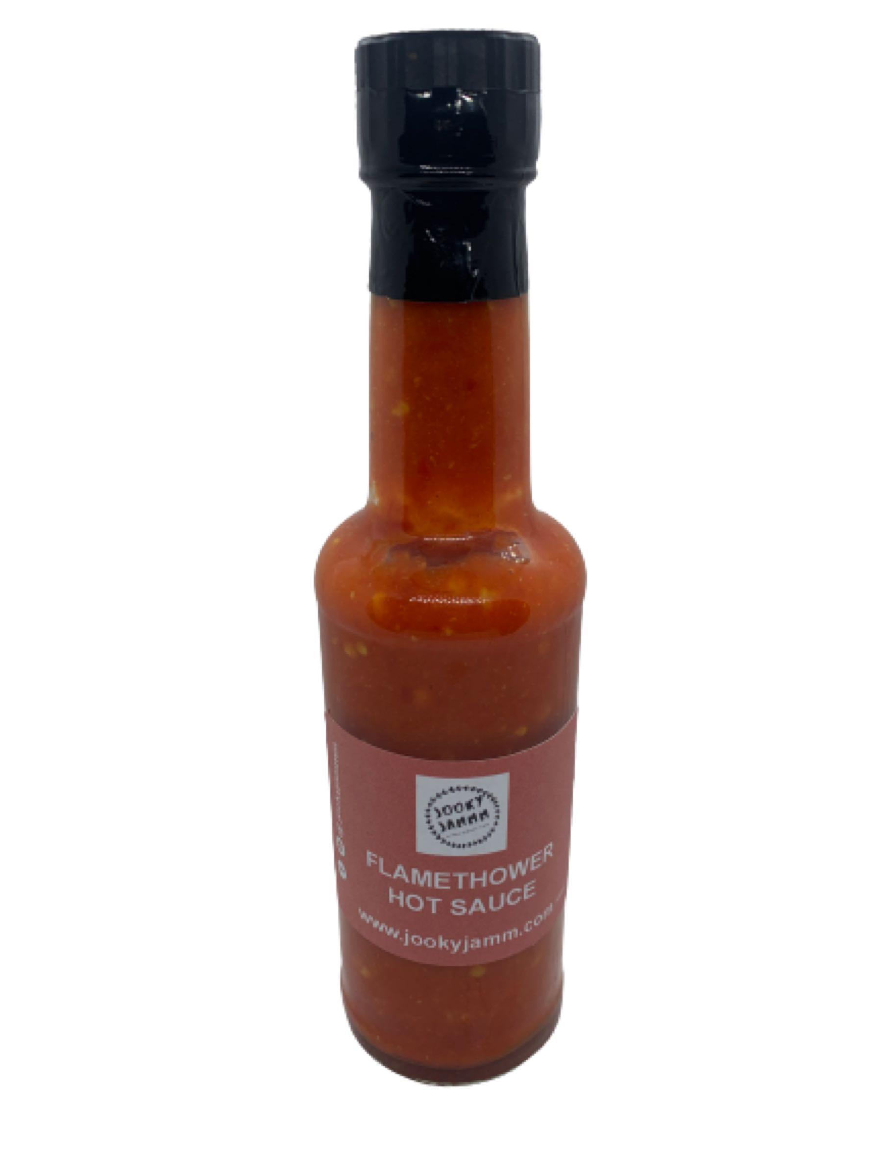 Jooky Jammm Flamethrower hot sauce