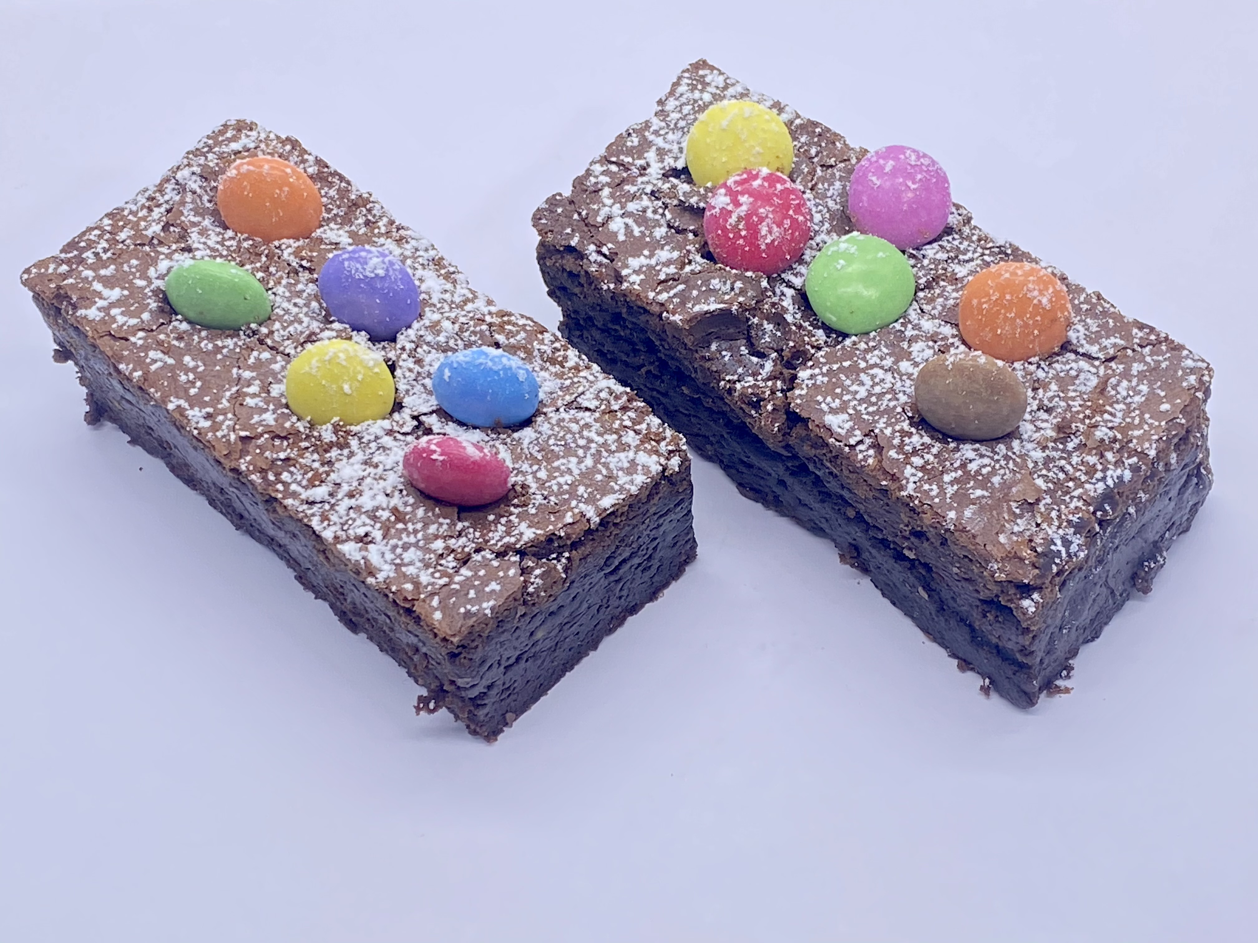 Smarties brownies Box