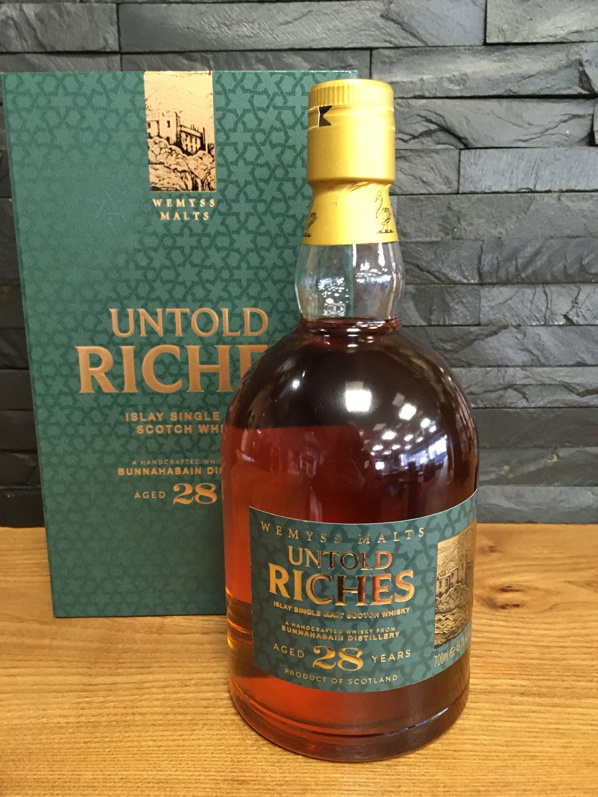 Wemyss Untold Riches Bunnahabhain 28 Year Old 70cl