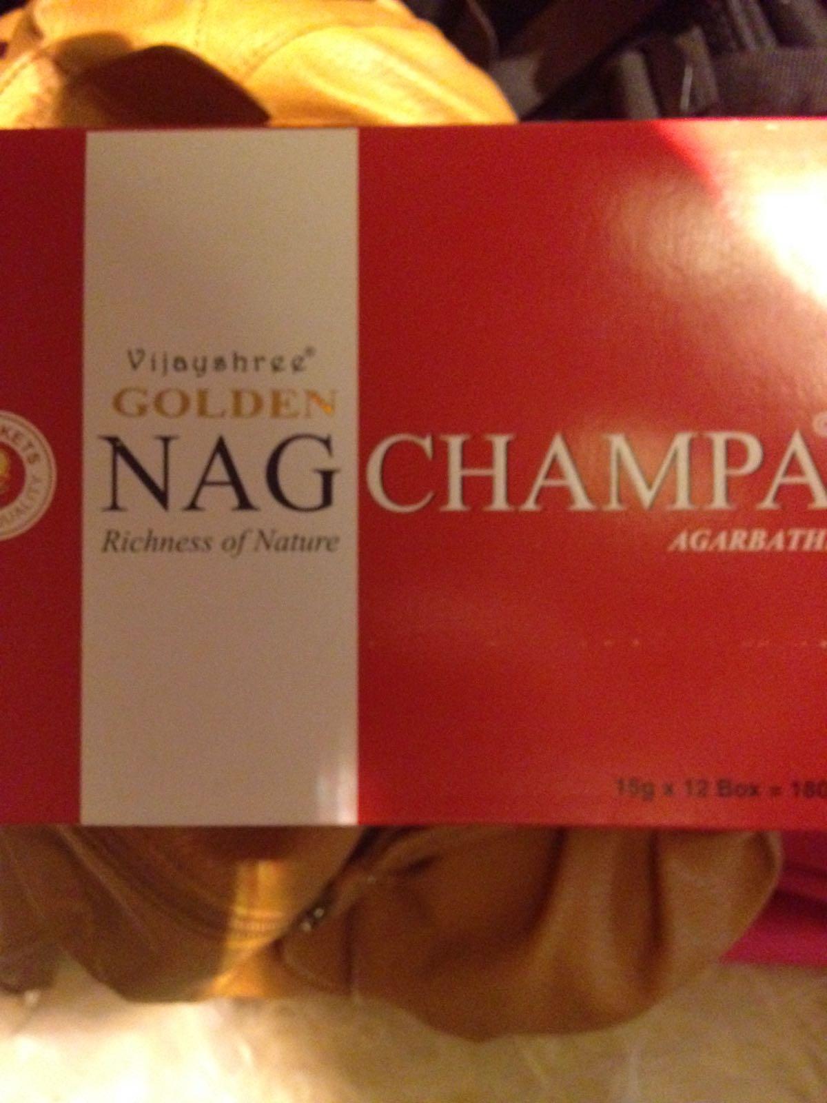 Indisk Røkelse - NagChampa - Agarbathi, 15 gr