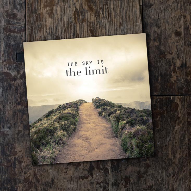 The sky is the limit - vikt kort