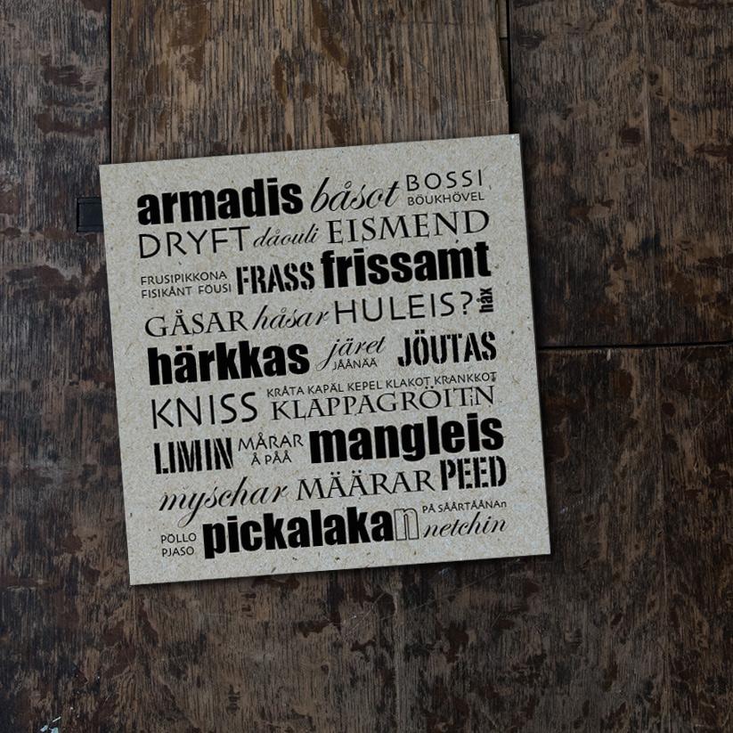 Armadis båsot - vikt kort