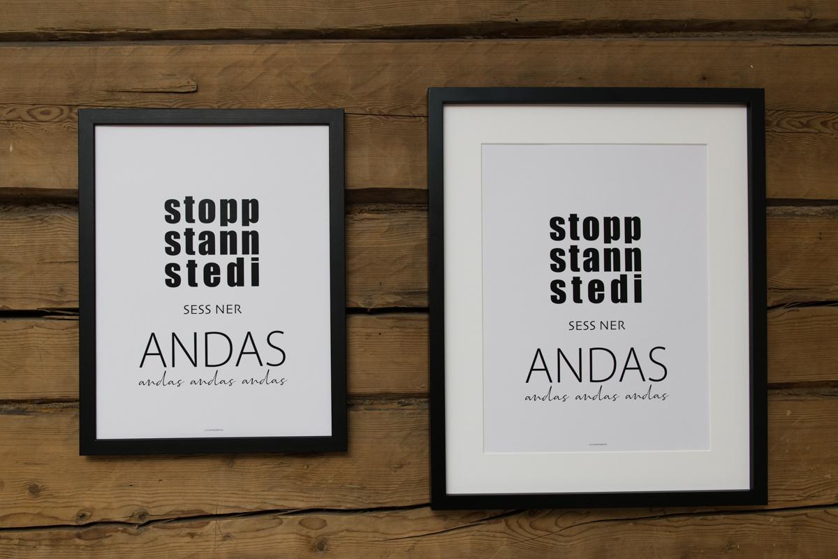 Dialektposter  - Stopp Stann Stedi