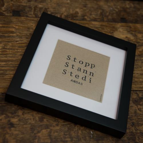 Liten Stopp Stann Stedi Original