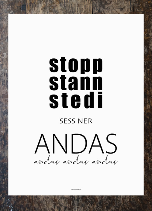 Poster  - Stopp Stann Stedi