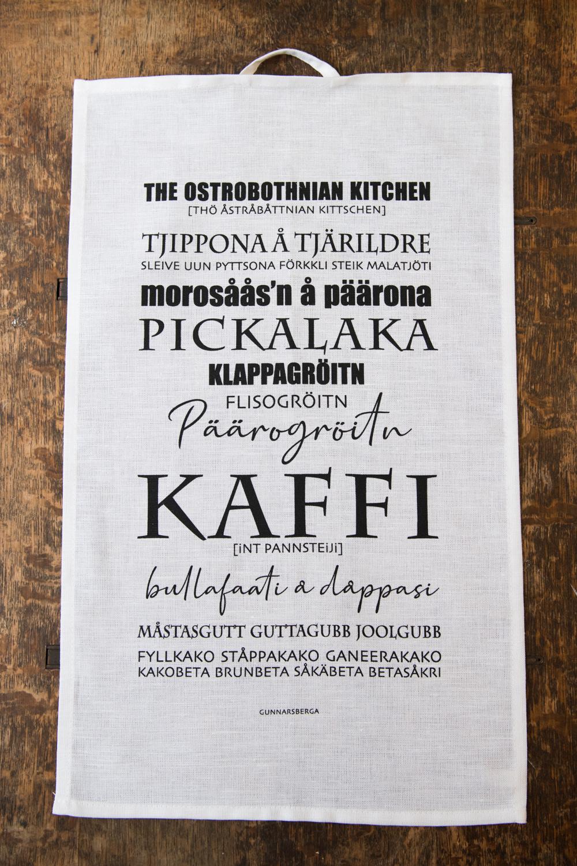 Ostrobothnian Kitchen kökshandduk