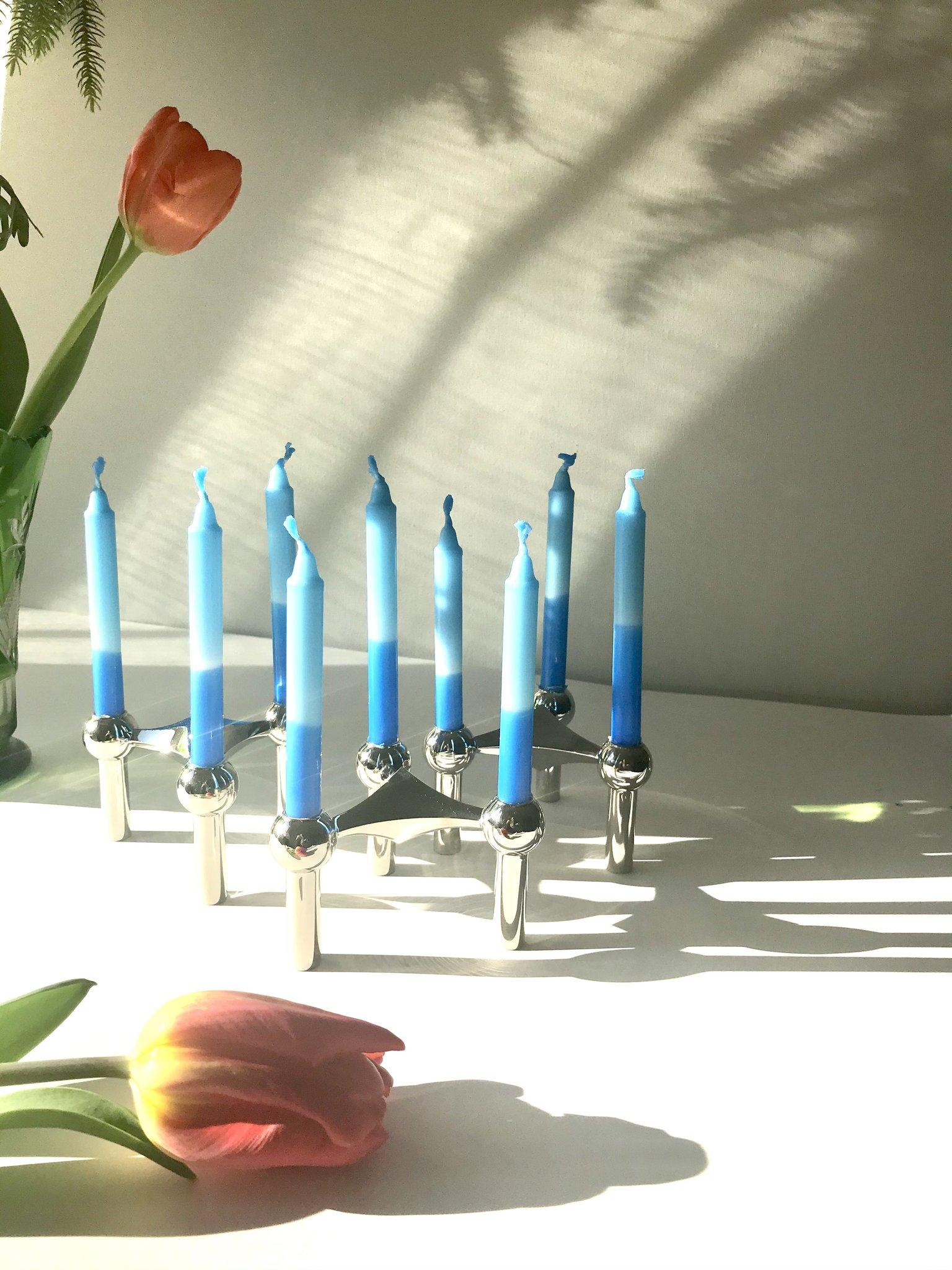 10 kleine Kerzen (Geburtstagskerzen) - bunte Mischung