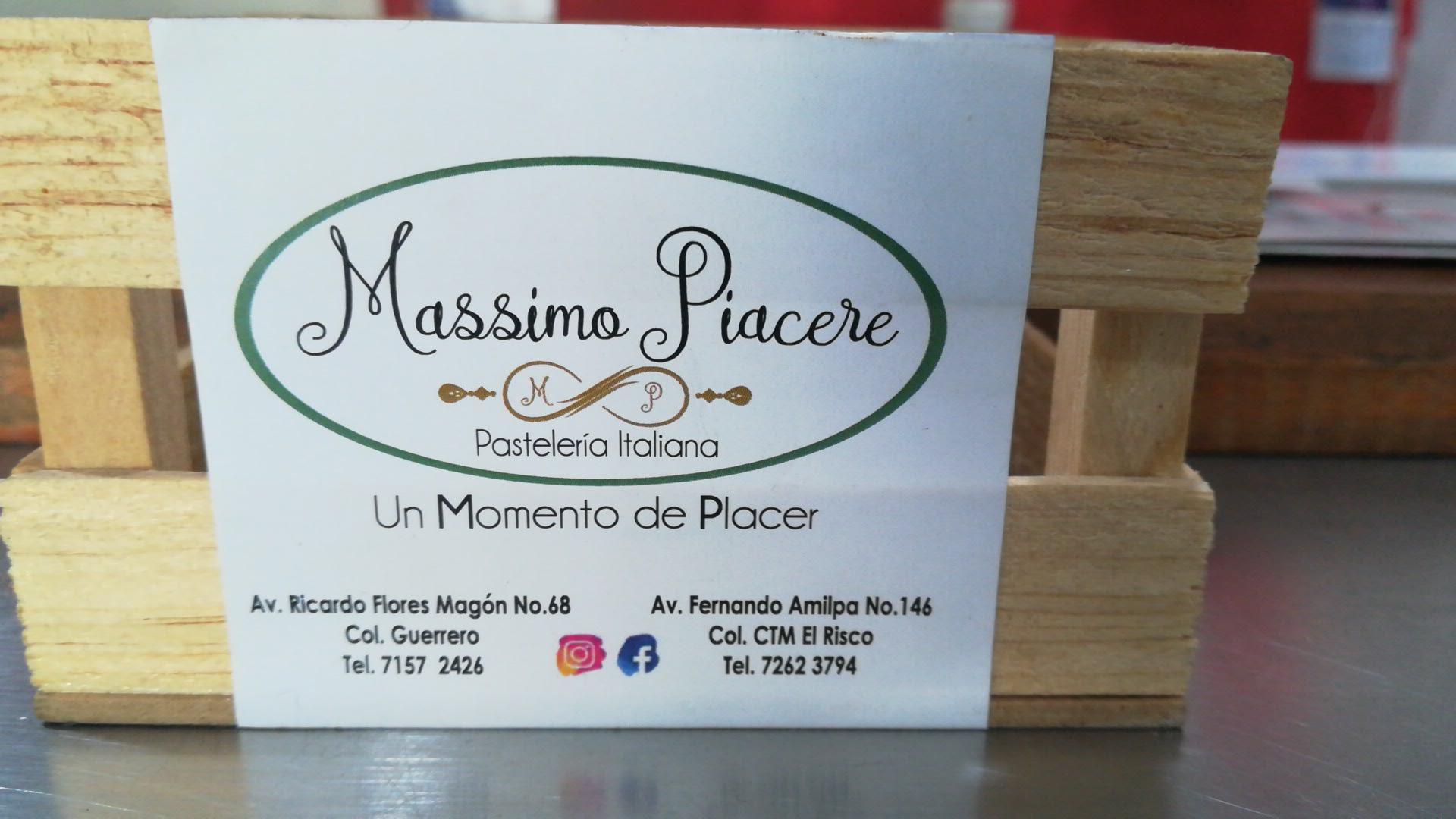 PASTELERÍA MASSIMO PIACERE
