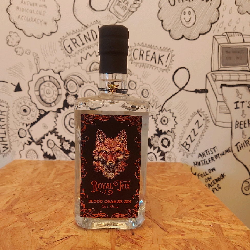 Royal Fox Blood Orange Gin 37.5%